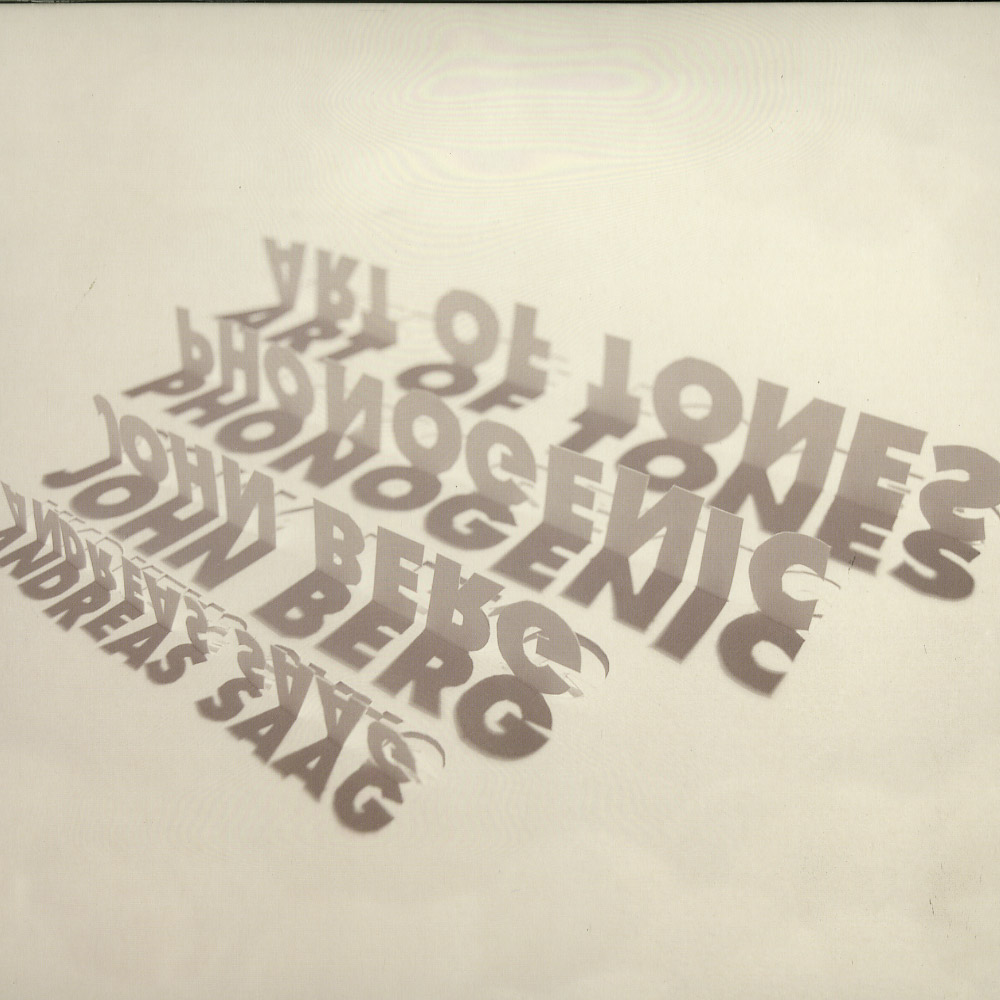 Art Of Tones, Phonogenic, Andreas Saag, John Berg - NEVER TOO LATE EP