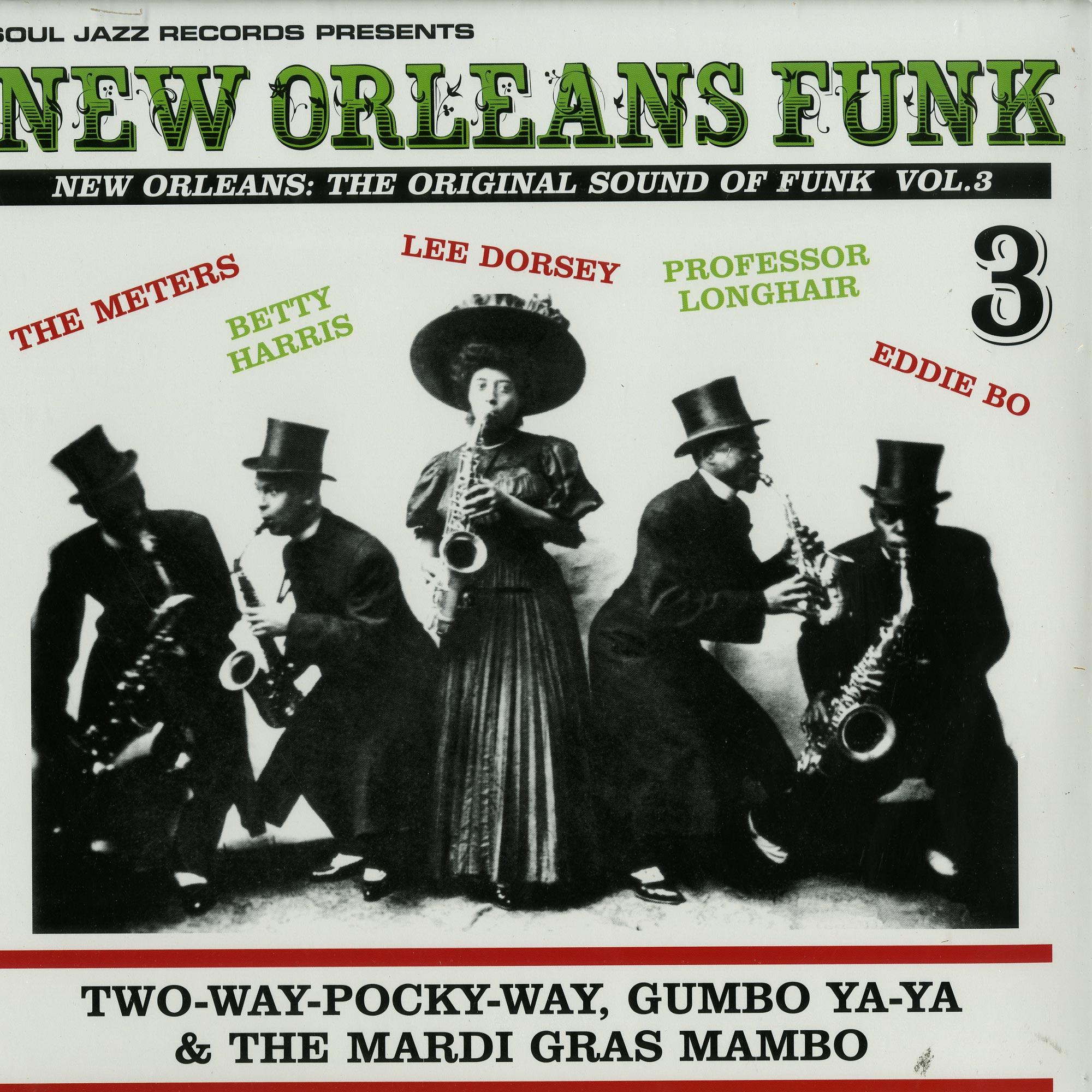 Various Artists - NEW ORLEANS FUNK 3