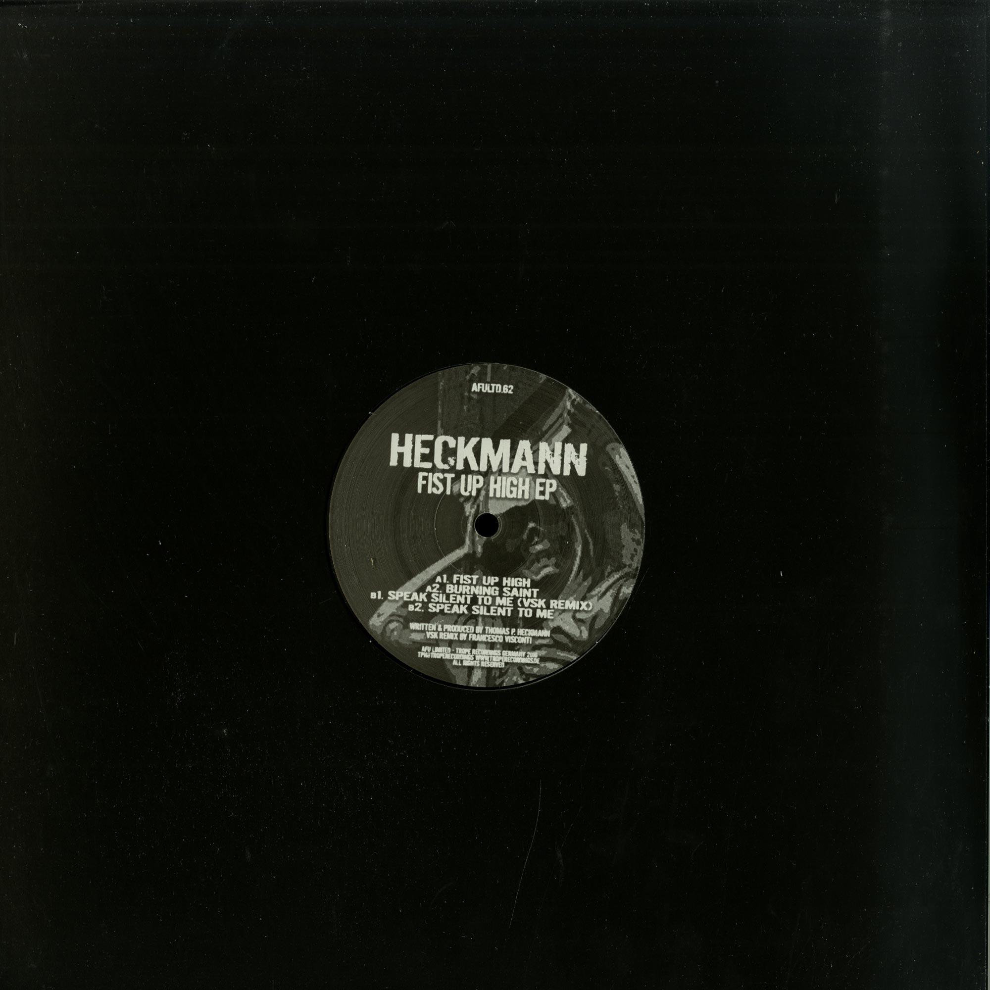 Heckmann - FIST UP HIGH EP