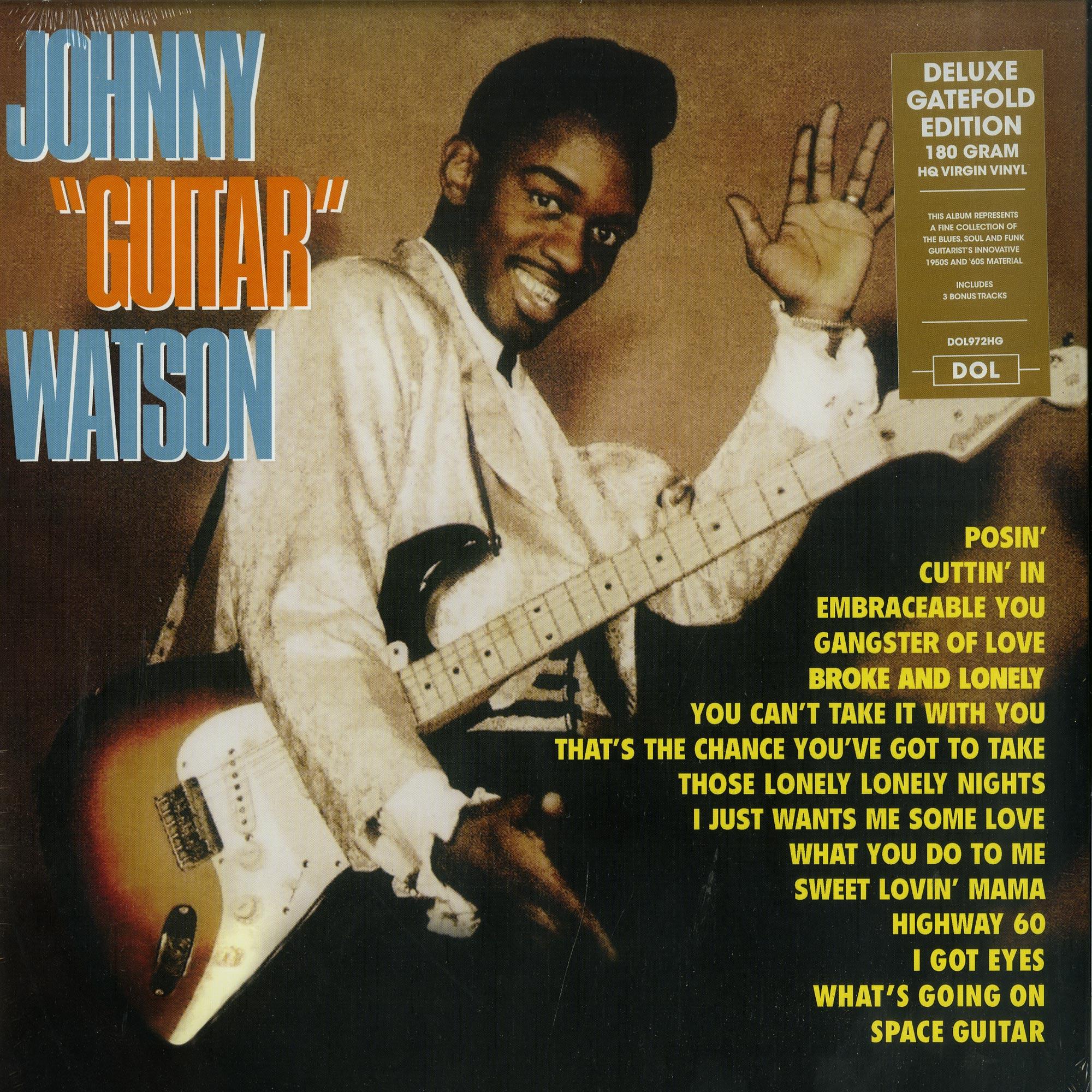 Johnny Guitar Watson - JOHNNY GUITAR WATSON