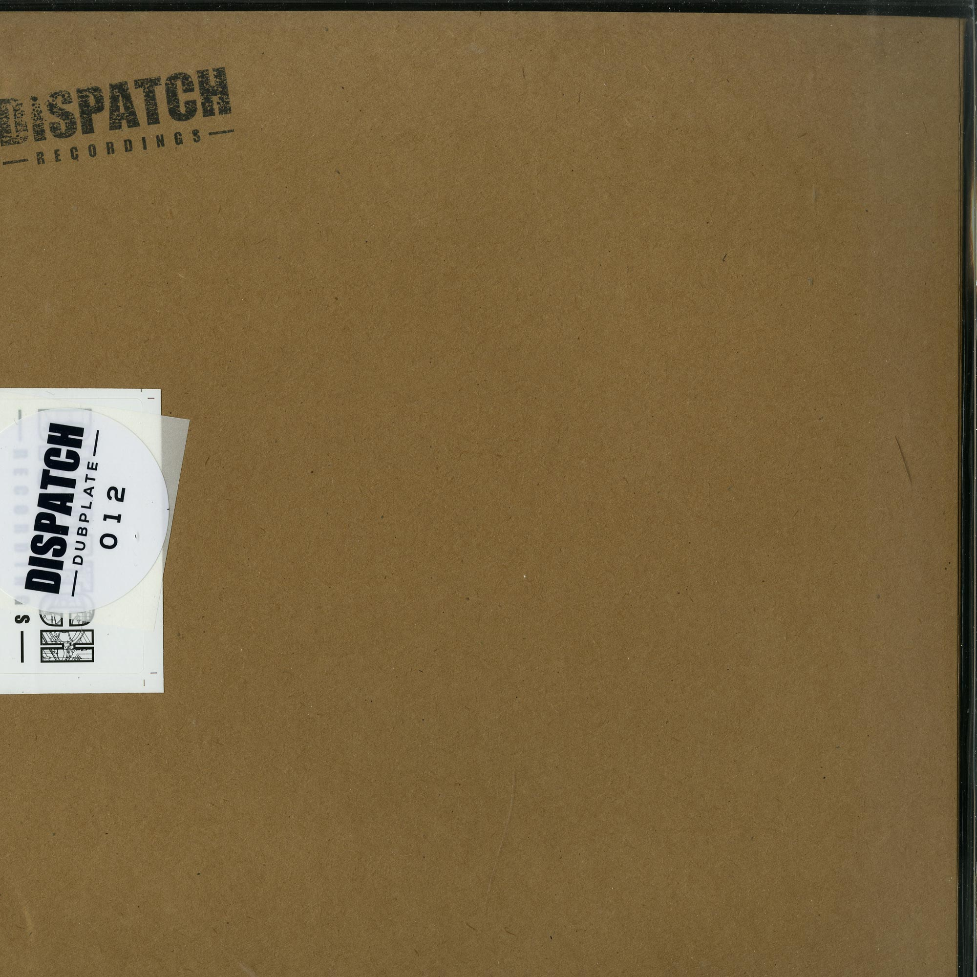 Commix - DISPATCH DUBPLATE 012