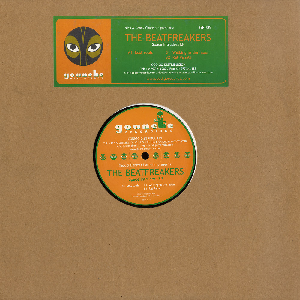Nick & Danny Chatelain pres The Beatfreakers - SPACE INTRUDERS EP