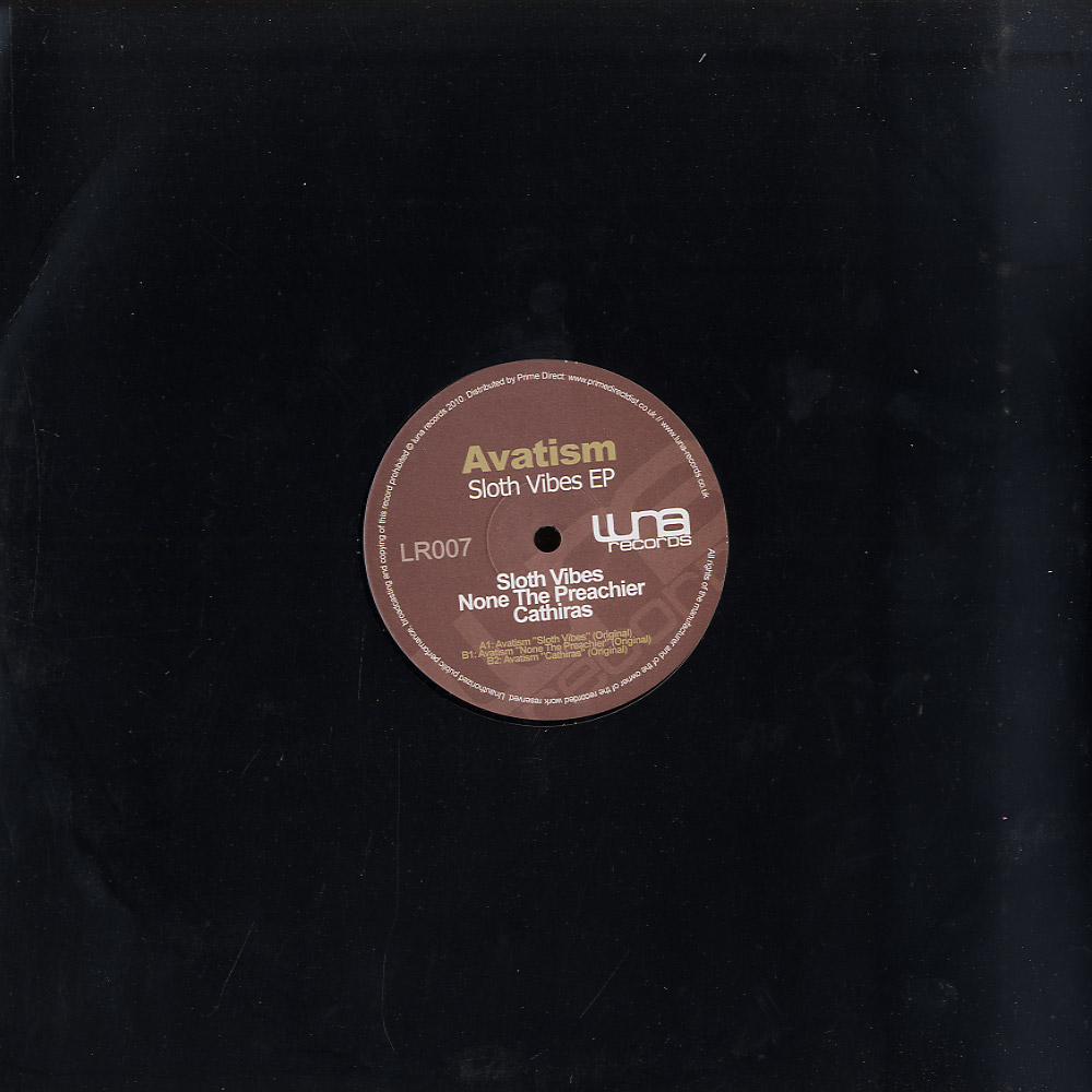 Avatism - SLOTH VIBES EP