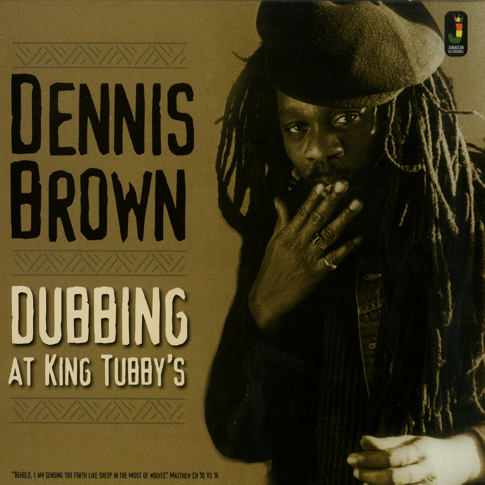 Dennis Brown - DUBBING AT KING TUBBYS