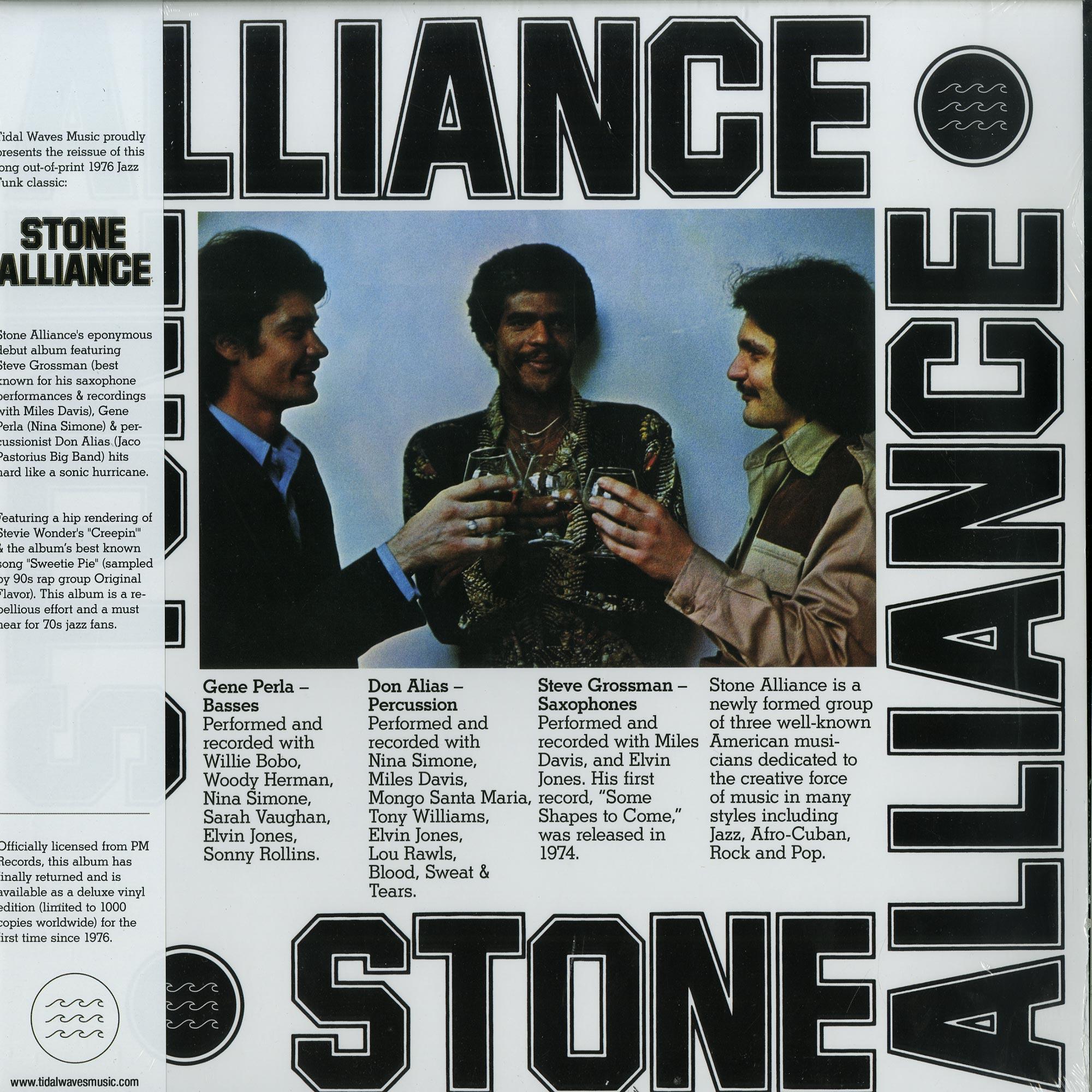 Stone Alliance - STONE ALLIANCE