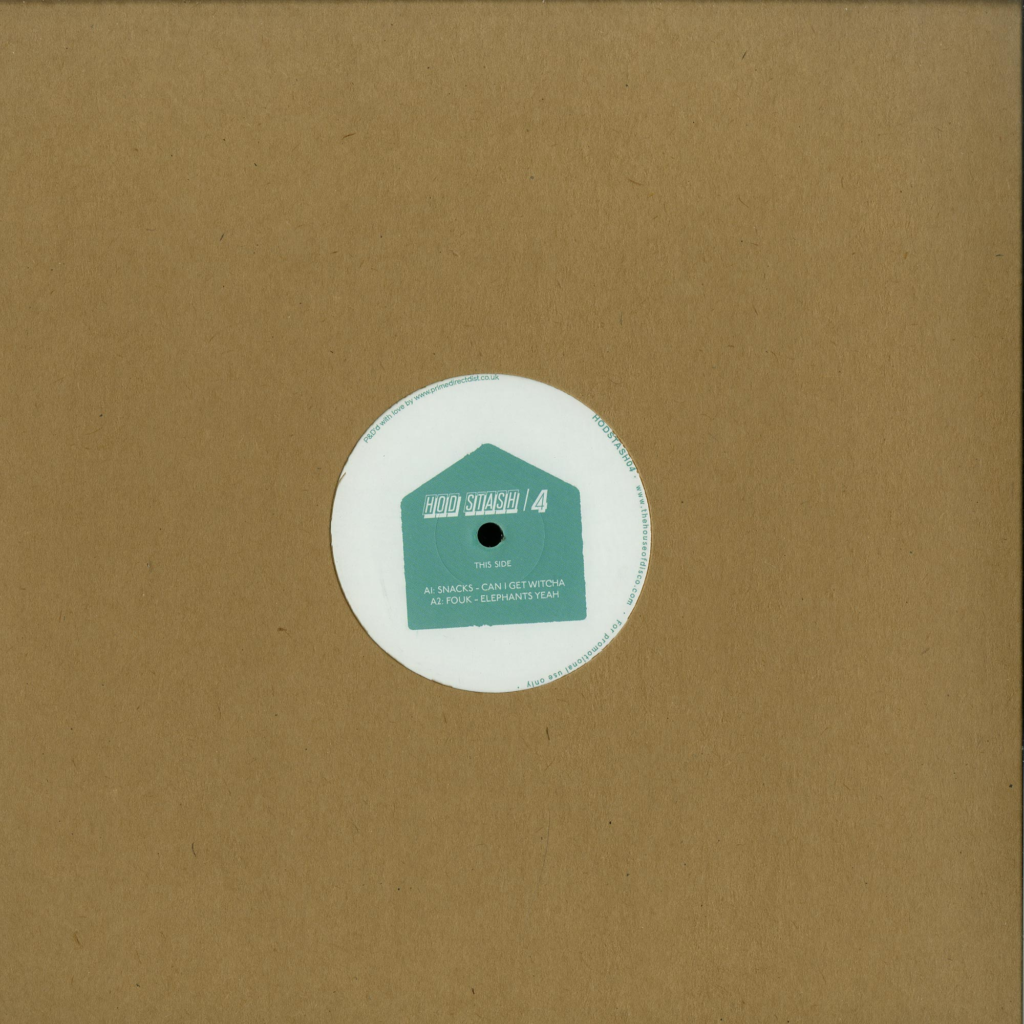 Various Artists - HODSTASH004