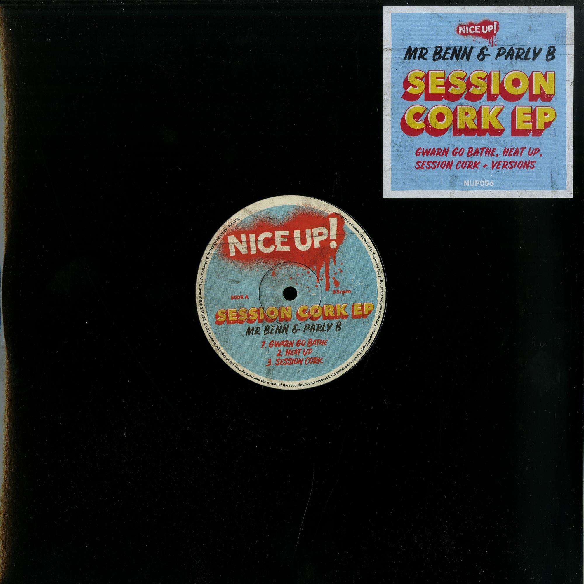 Mr Benn & Parly B - SESSION CORK EP