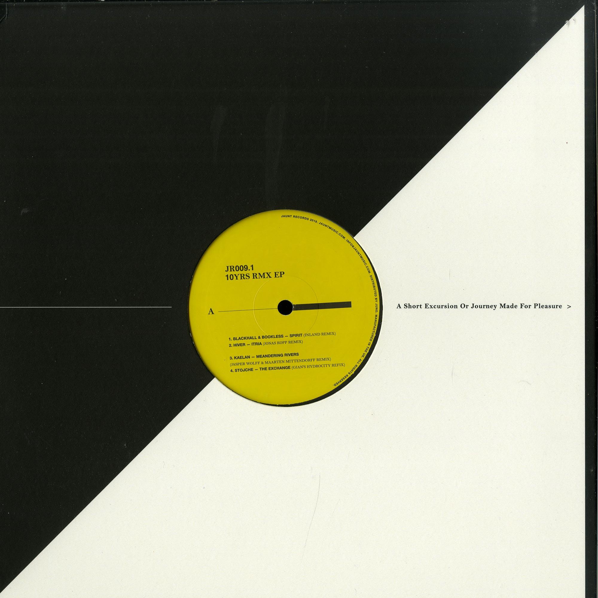 Blackhall & Bookless / Hiver / Kaelan / Stojche - 10 YRS RMX EP1