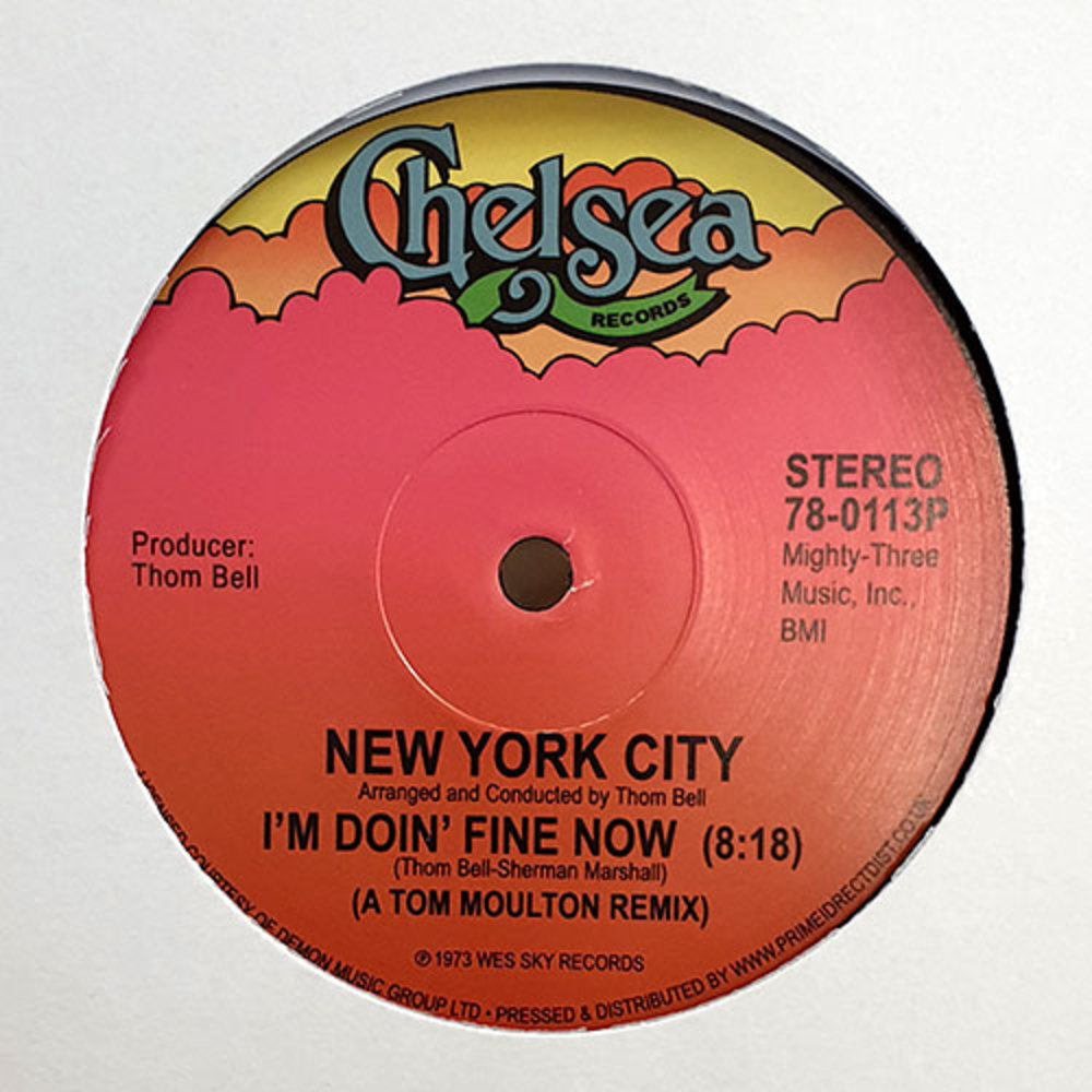 New York City - I M DOIN FINE NOW / QUICK FAST IN A HURRY