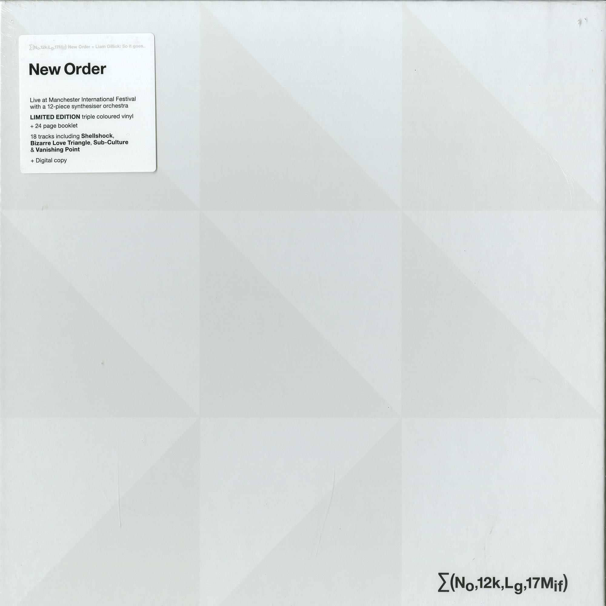 New Order + Liam Gillick - SO IT GOES