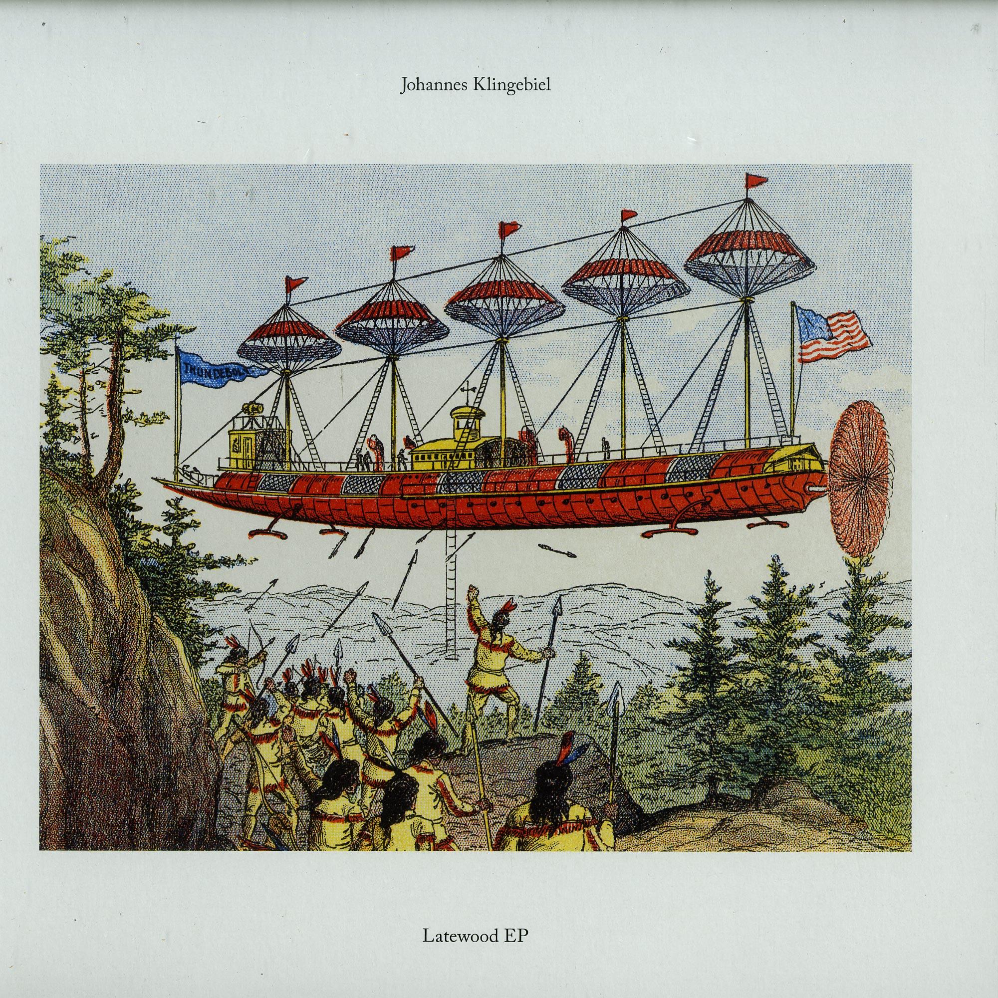 Johannes Klingebiel - LATEWOOD EP