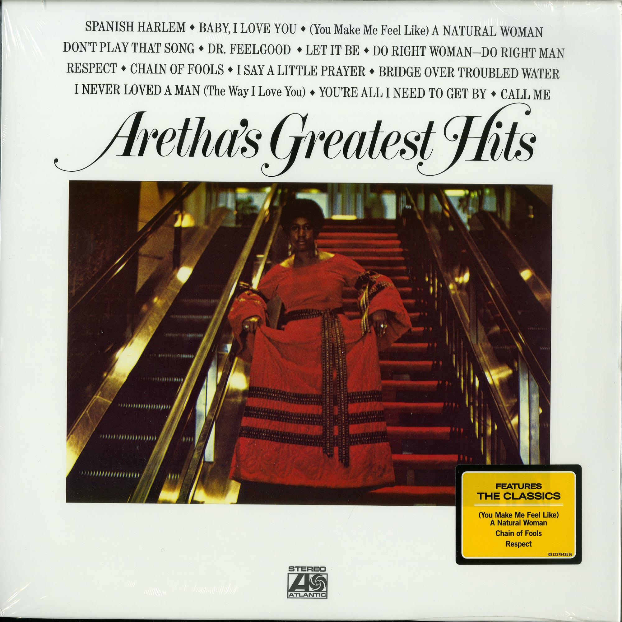 Aretha Franklin - ARETHAS GREATEST HITS