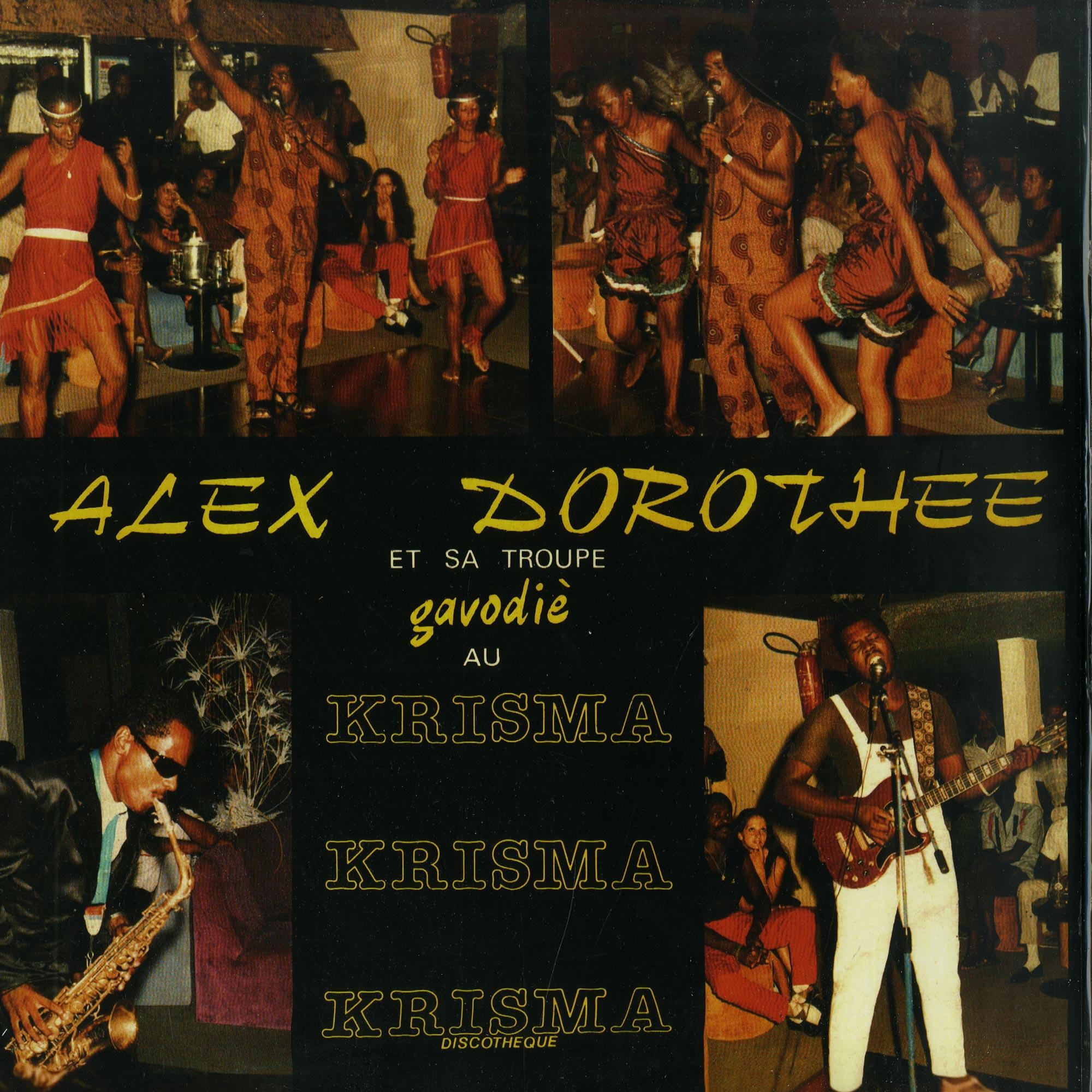 Alex Dorothee Et Sa Troupe Gavodie - AU KRISMA DISCOTHEQUE LP