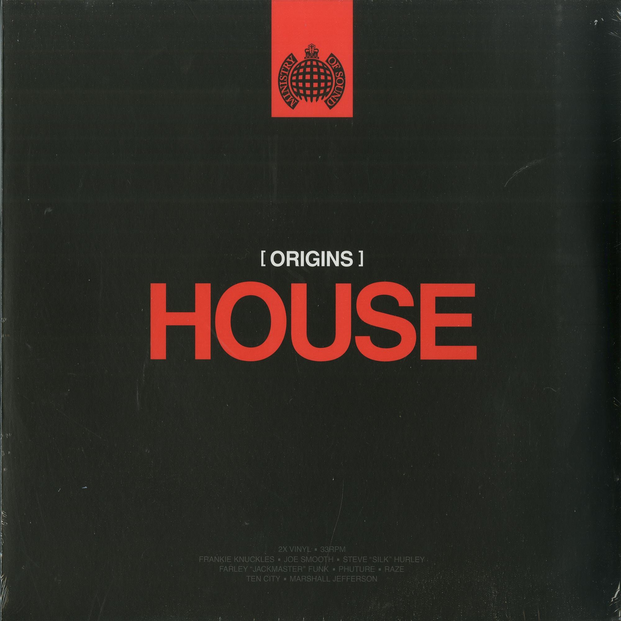 Various Artists - ORIGINS OF HOUSE