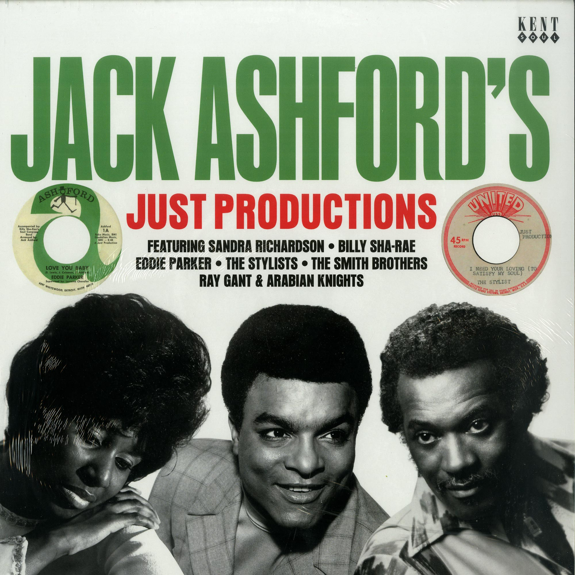 Various Artists - JACK ASHFORDS JUST PRODUCTIONS