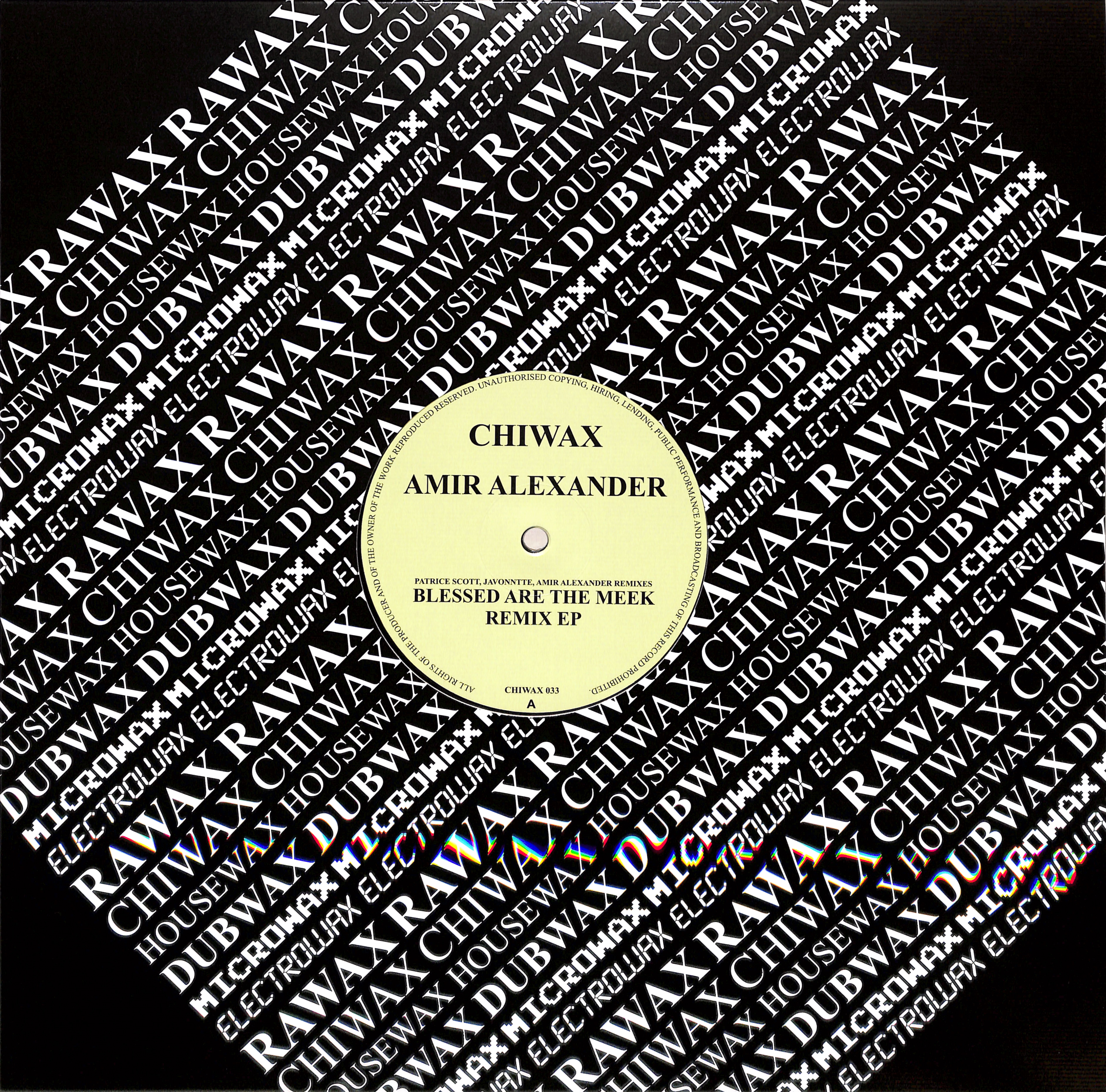Amir Alexander - BLESSED ARE THE MEEK