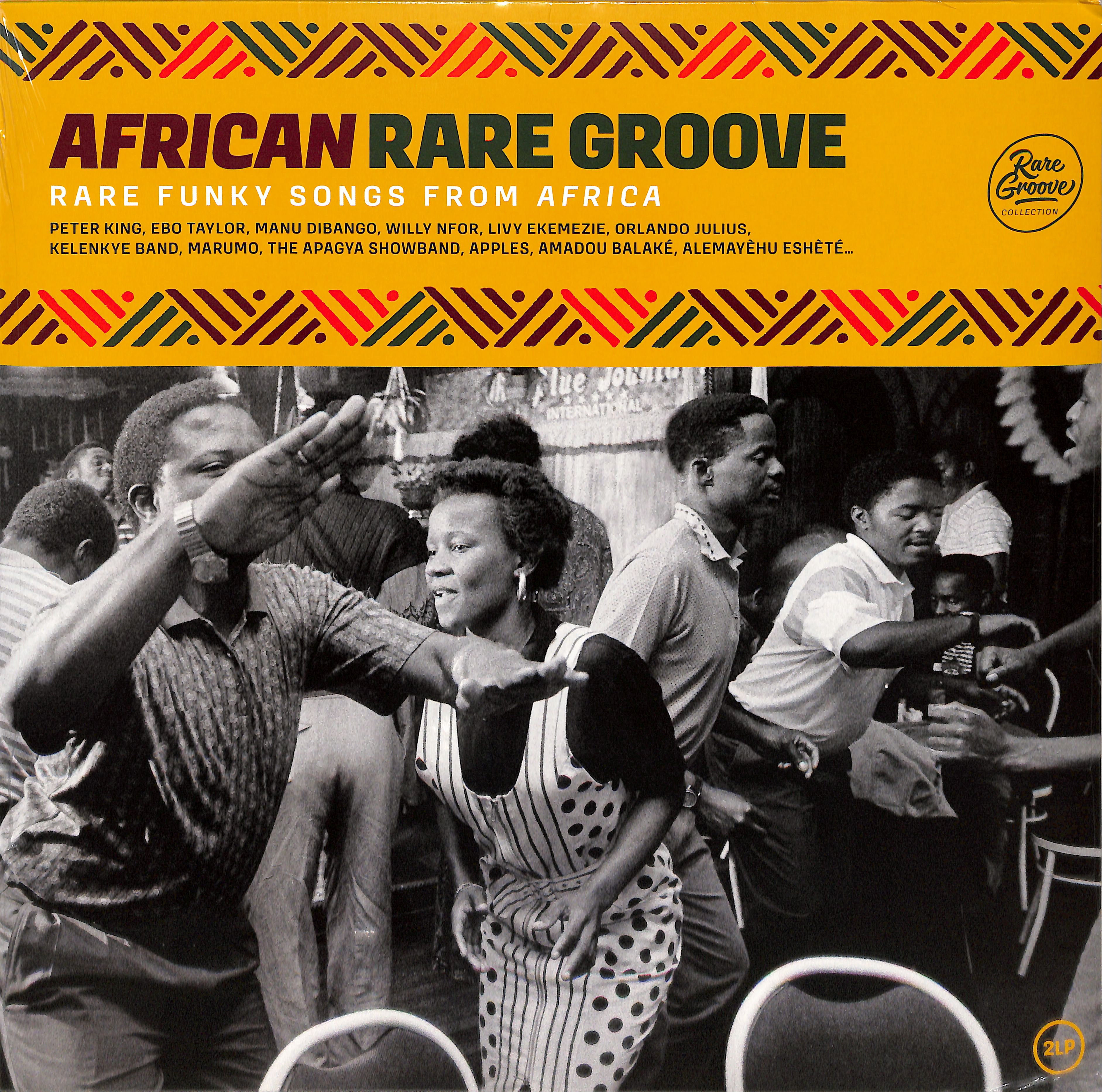 Various Artists - AFRICAN RARE GROOVE