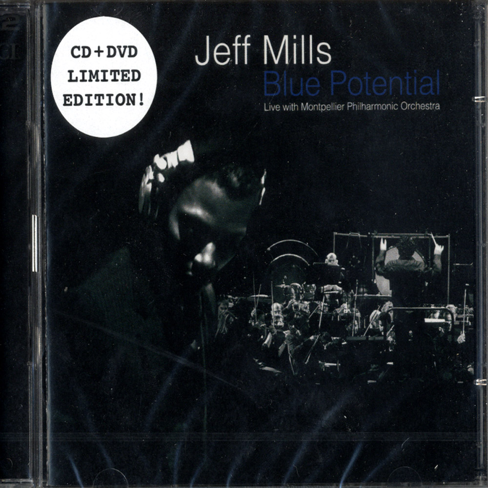 Jeff Mills Live With Montellier Philharmonic Orchestra - BLUE POTENTIALS