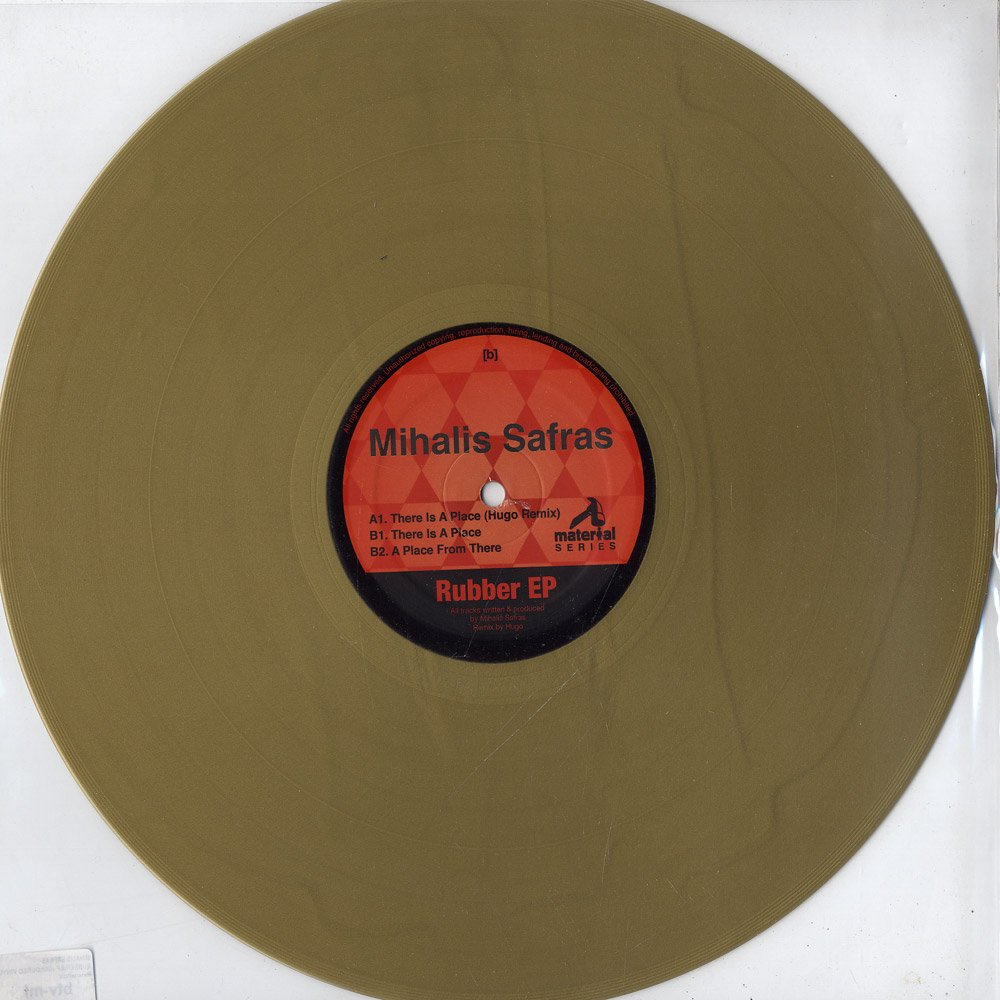 Mihalis Safras - RUBBER EP