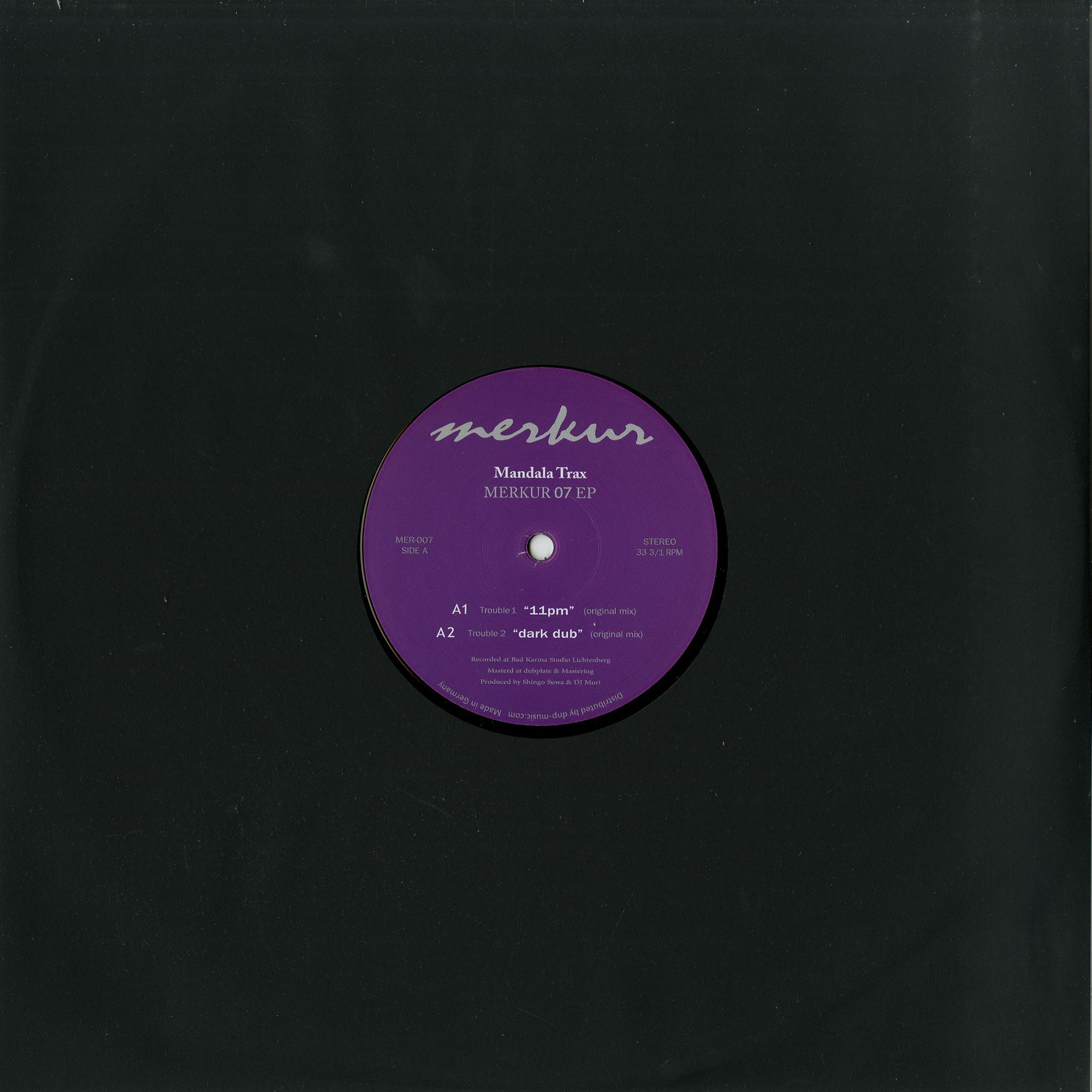 Mandala Trax - MERKUR 07 EP
