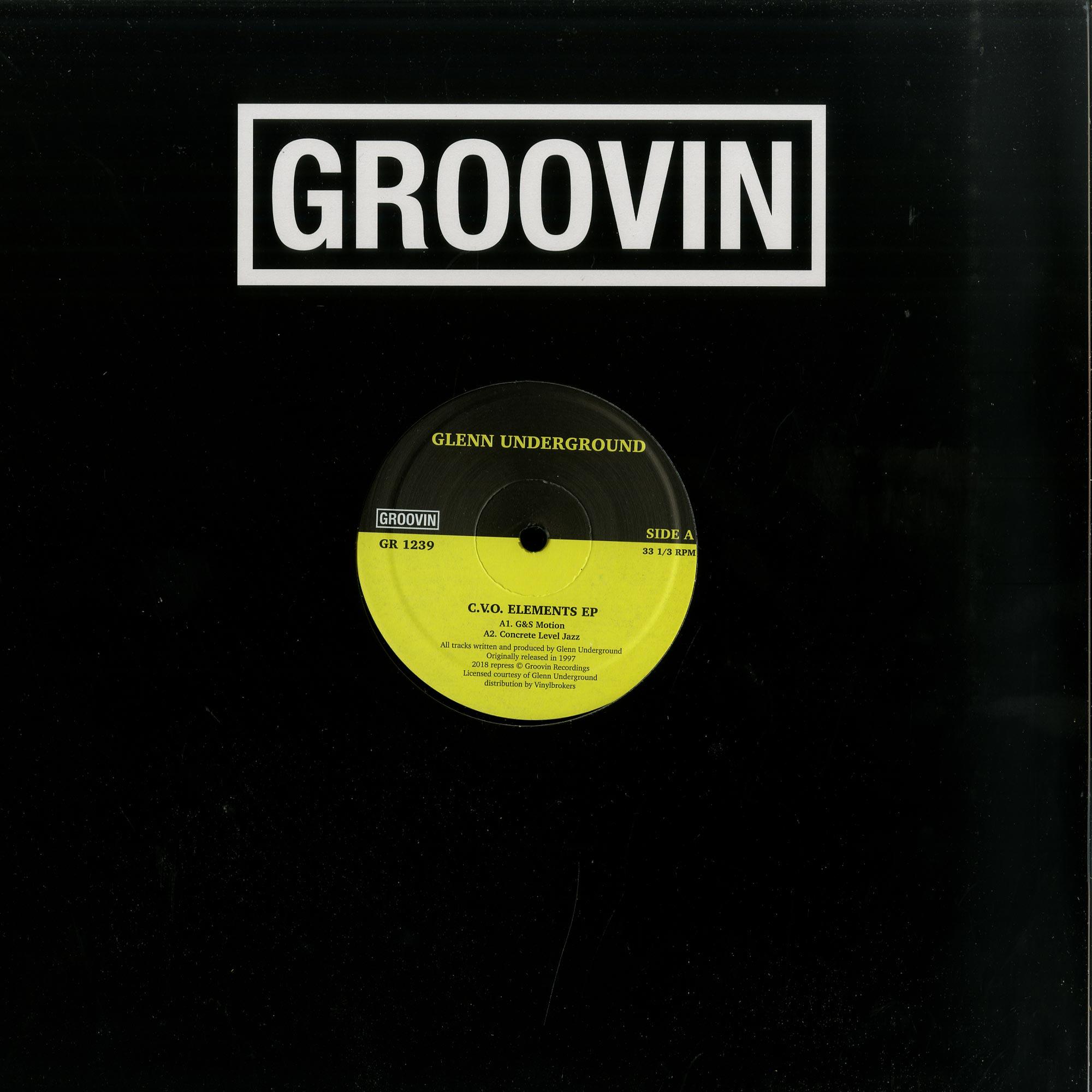 Glenn Underground - C.V.O. ELEMENTS EP