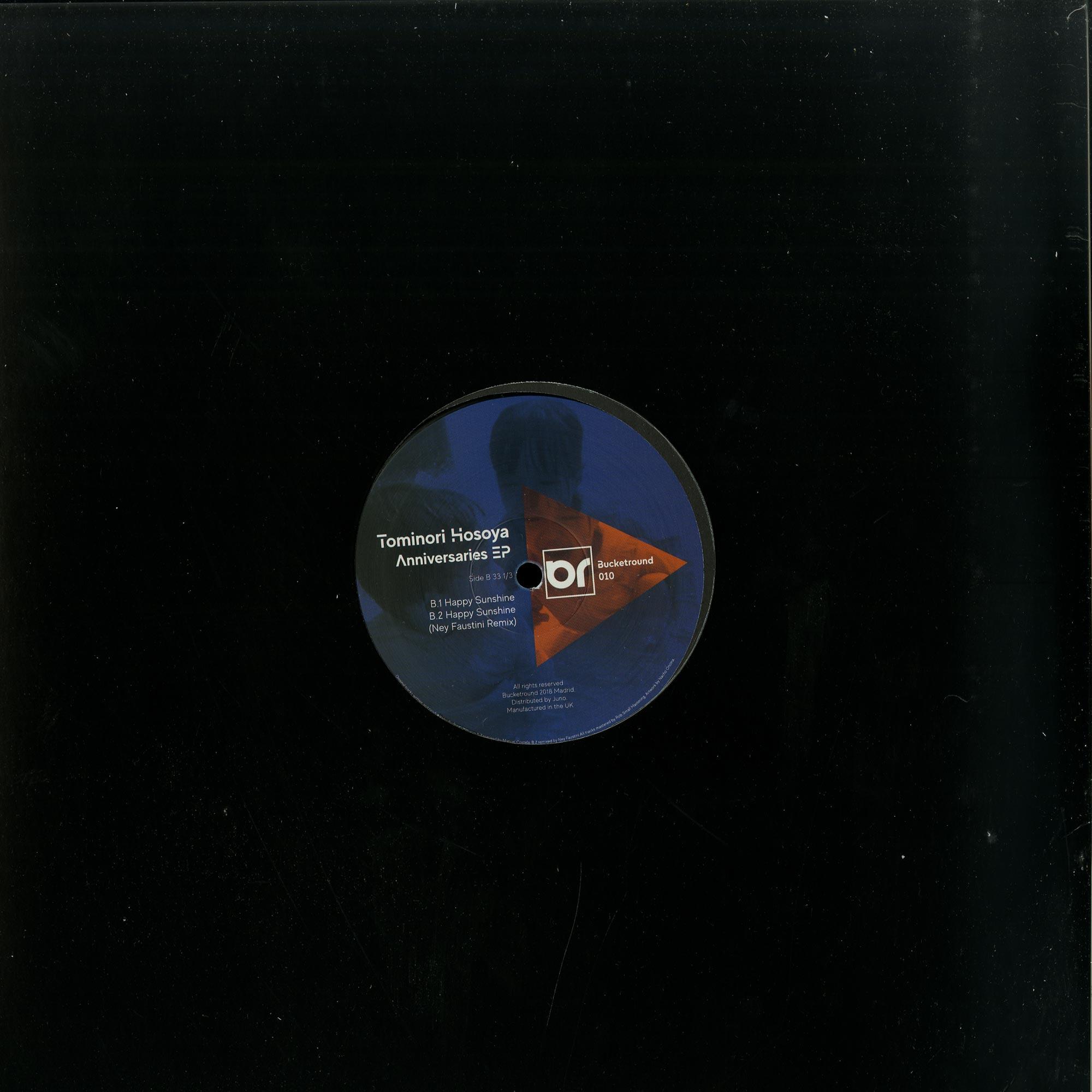 Tominori Hosoya - ANNIVERSARIES EP
