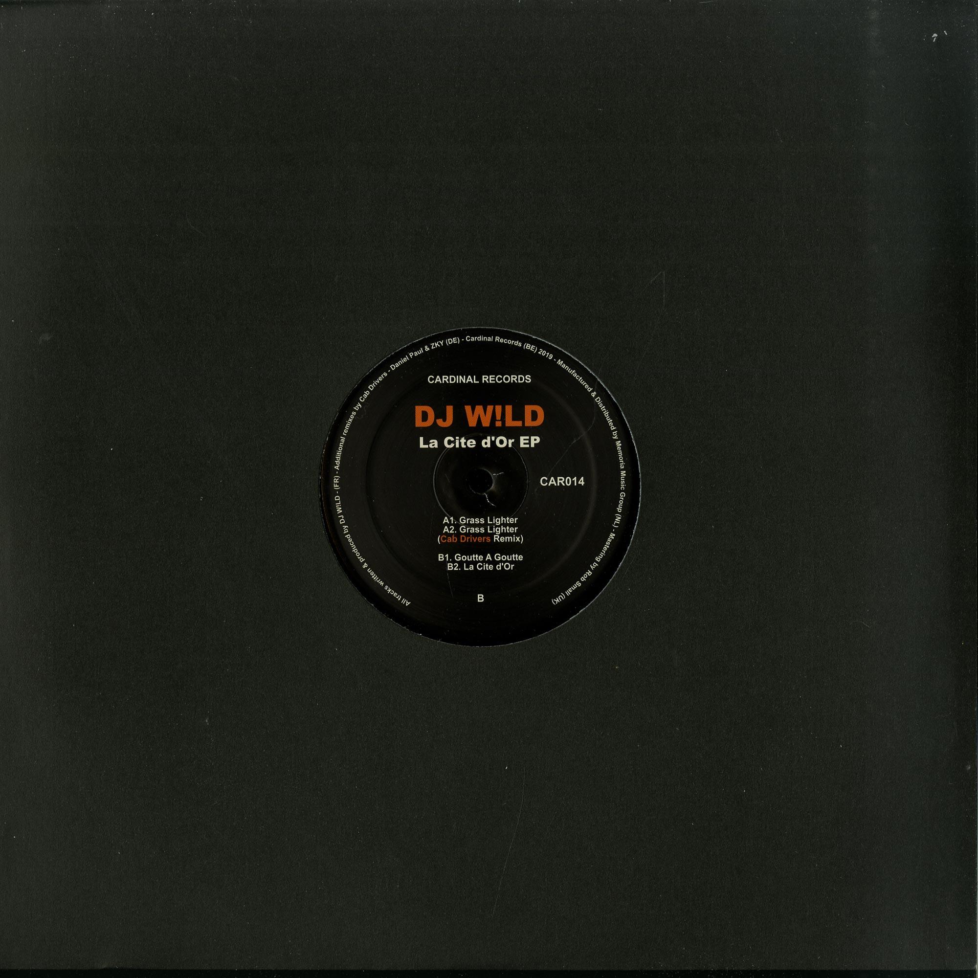 DJ W!LD - LA CITE DOR EP
