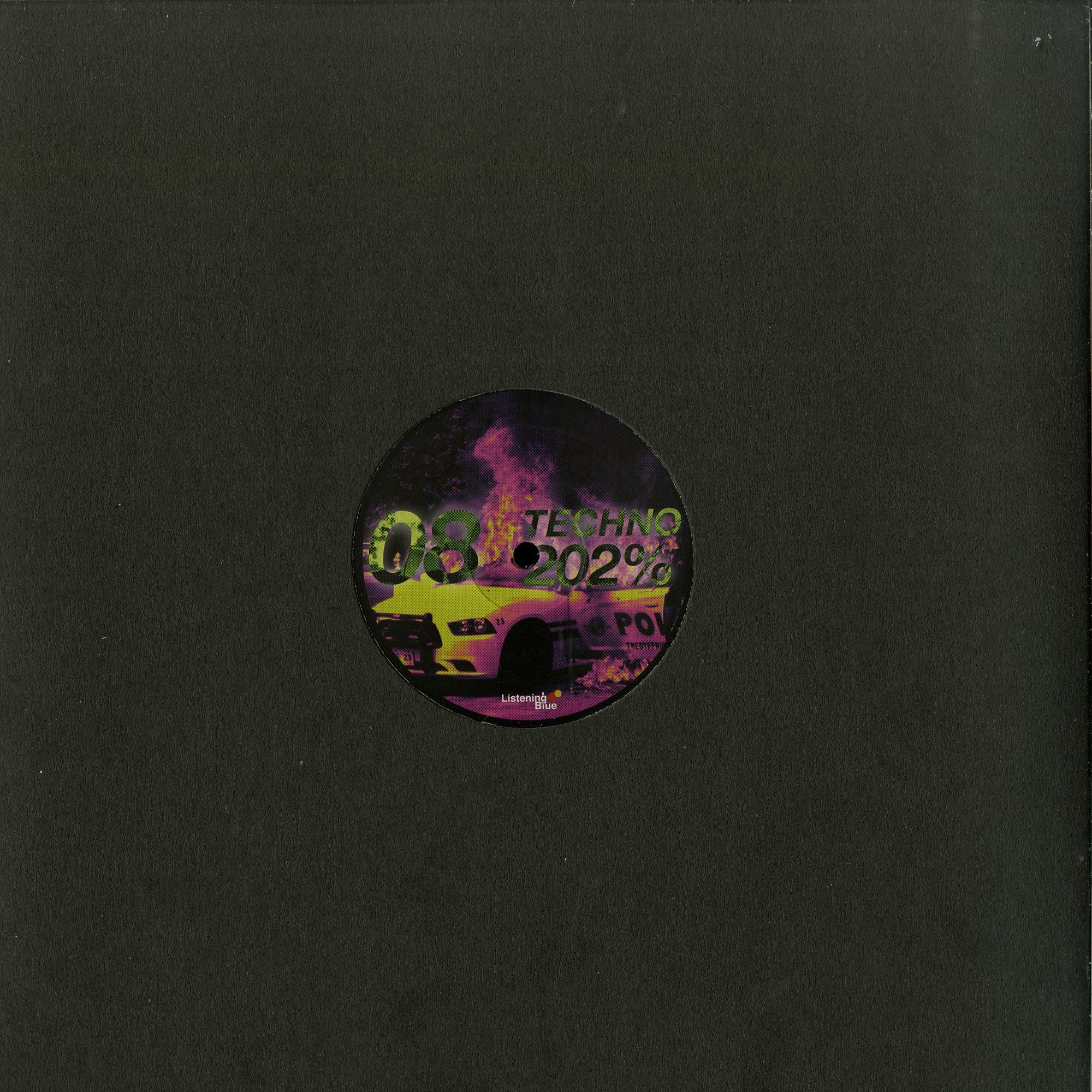 Various Artists - TECHNO 202%