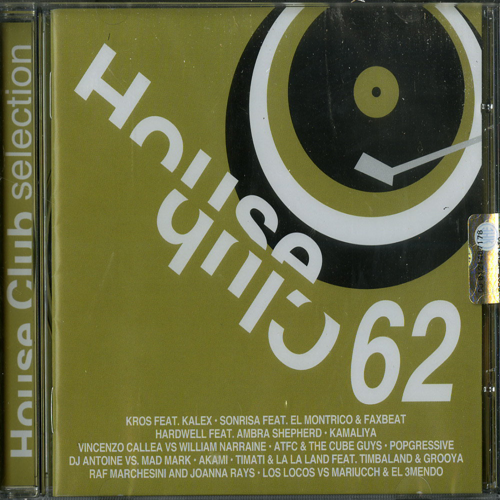 Various Artists - HOUSE CLUB SELECTION 62