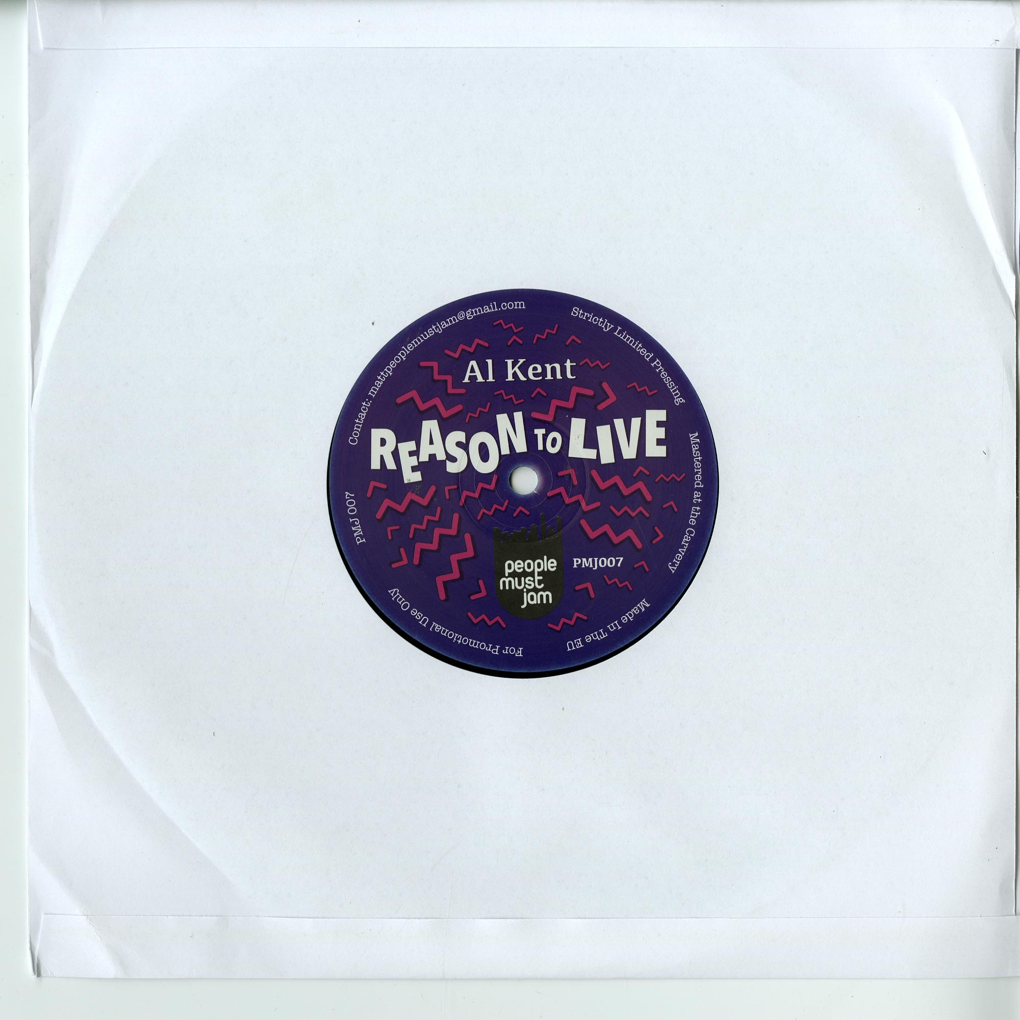 Al Kent - REASON TO LIVE