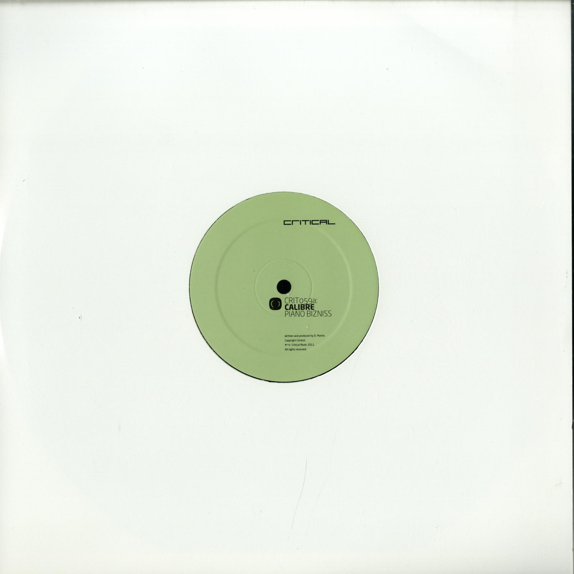 Calibre - PIANO BIZNESS / SMOOTH BABY