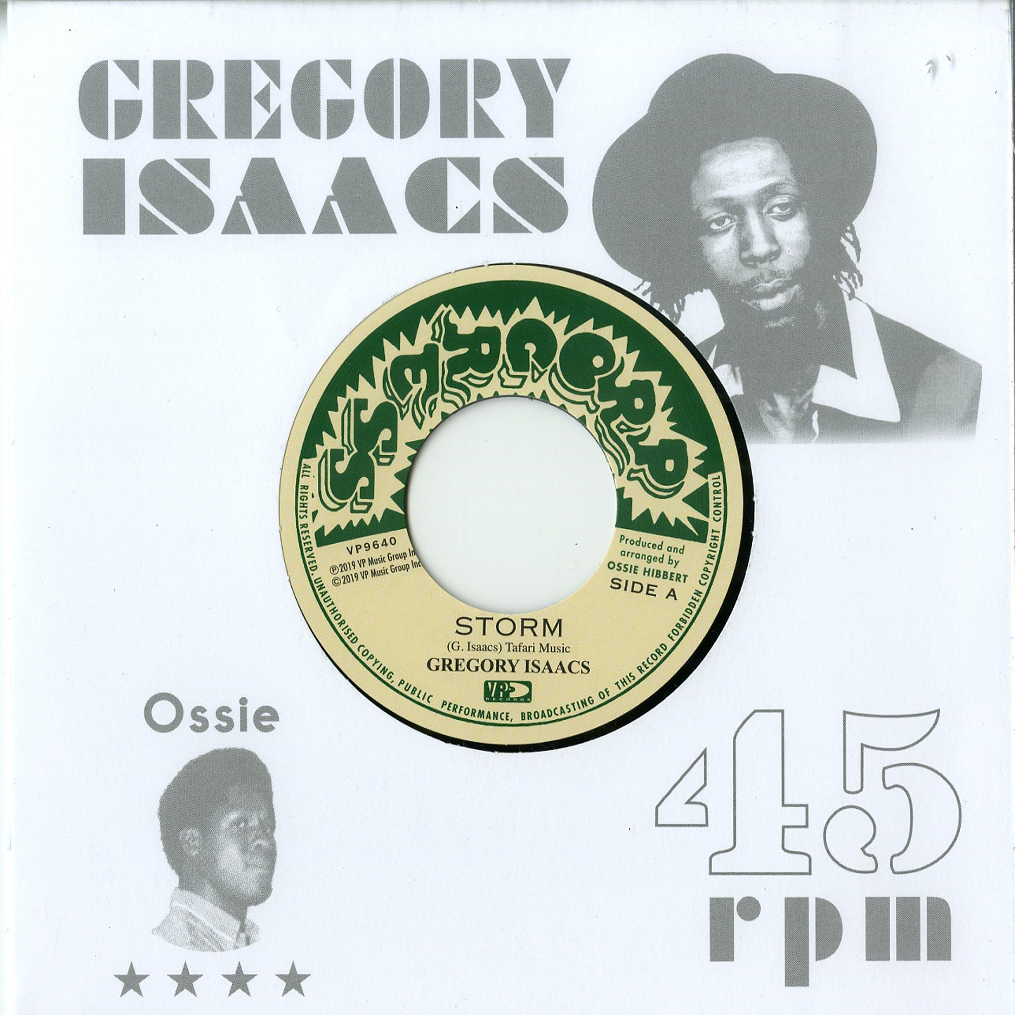 Gregory Isaacs / Ossi All-Stars - STORM / LEGGO DUB
