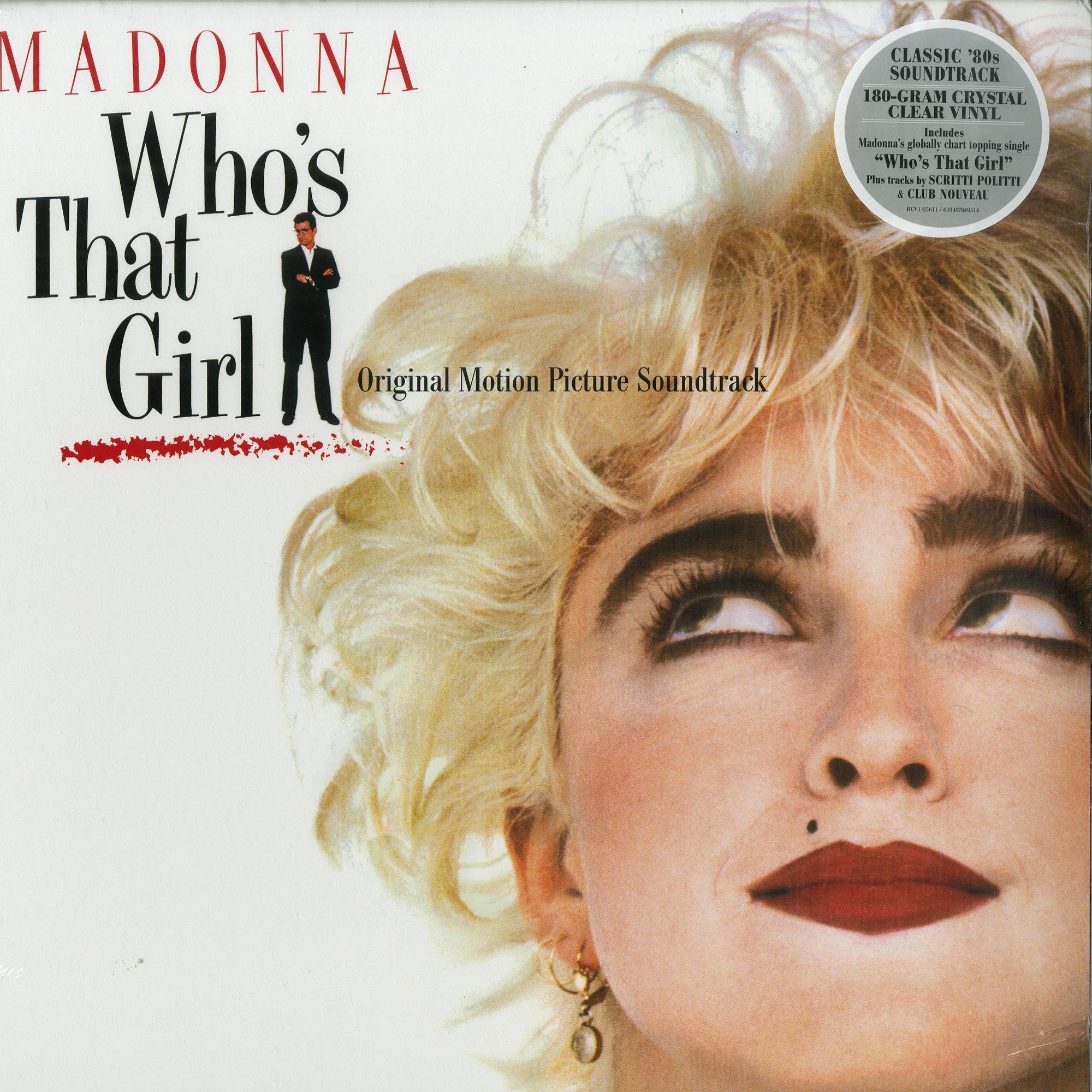 Madonna / Original Sound Track - WHOS THAT GIRL