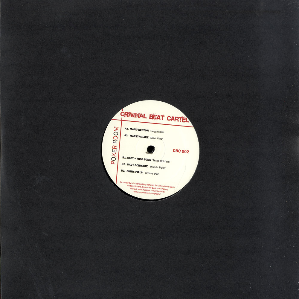 Manu Kenton / Marty Hare / Stoy & Miss T - POKER ROOM