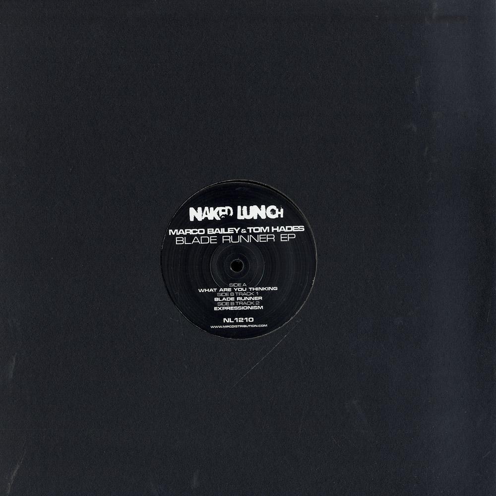 Marco Bailey & Tom Hades - BLADE RUNNER EP