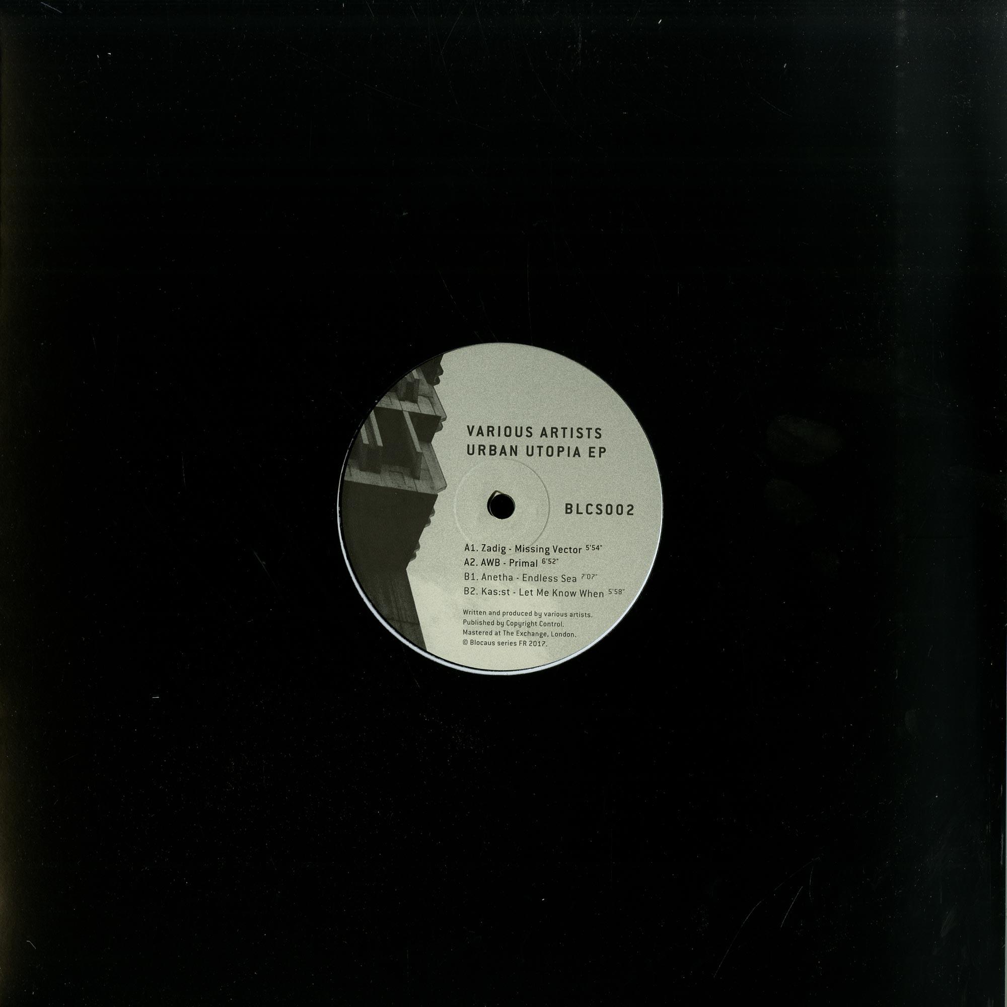 Zadig / Kas:st / Anetha / AWB - URBAN UTOPIA EP