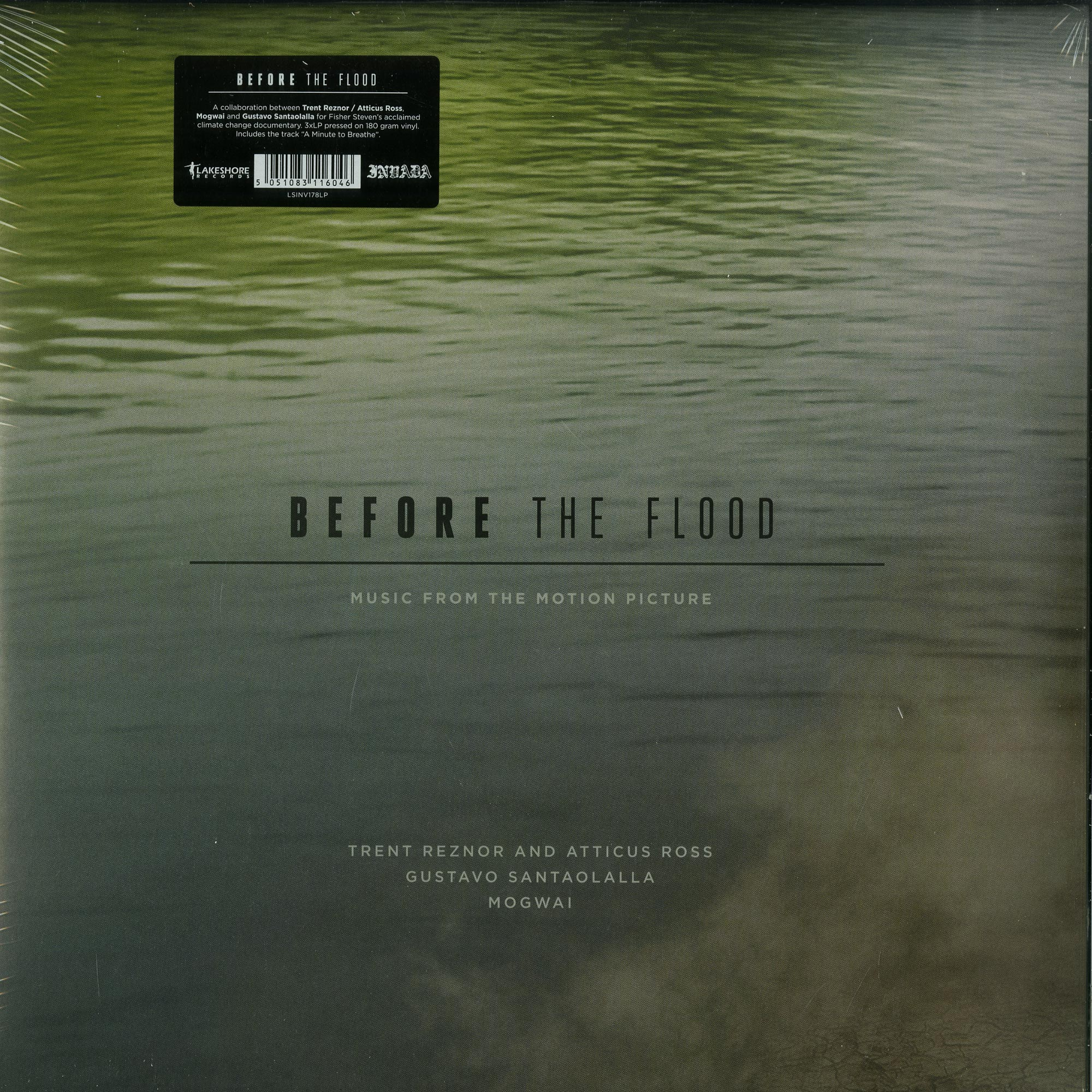 Trent Reznor & Atticus Ross, Gustavo Santaolalla, Mogwai - BEFORE THE FLOOD O.S.T.