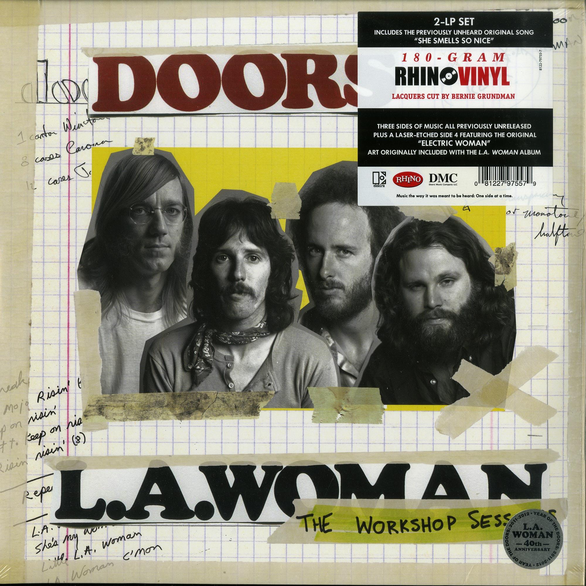 Doors - L A  WOMAN - THE WORKSHOP SESSIONS