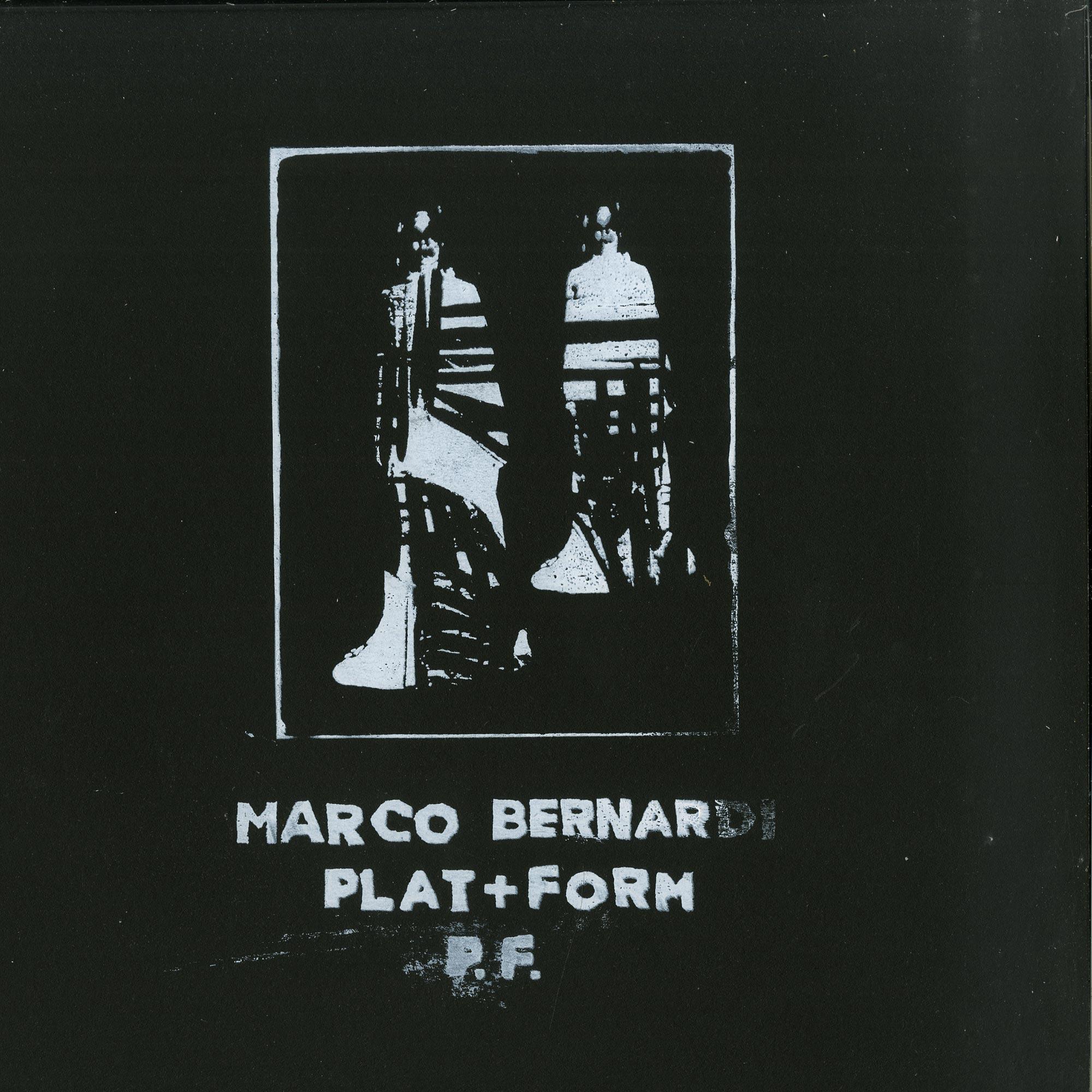 Marco Bernadi - PLAT + FORM P.F.