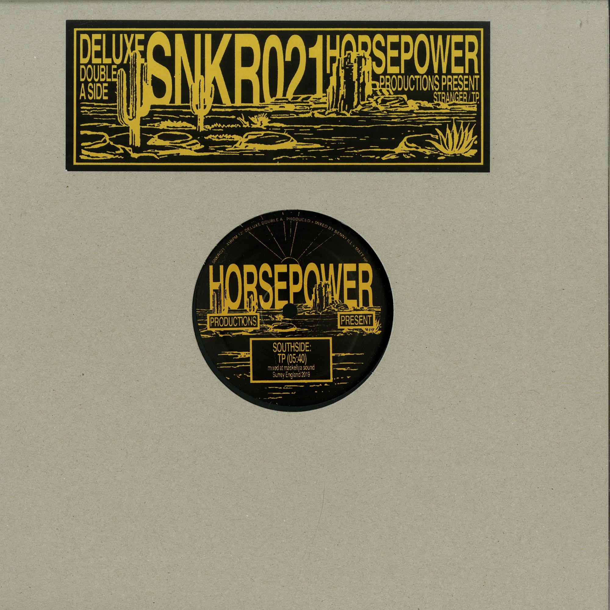 Horsepower Productions - Stranger / TP