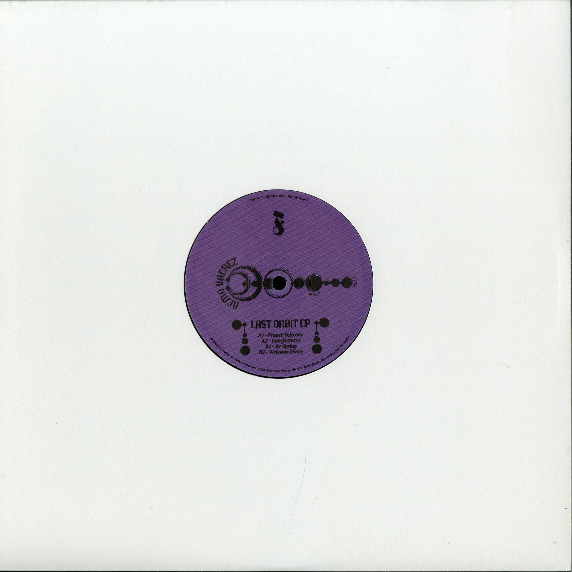 Nemo Vachez - LAST ORBIT EP