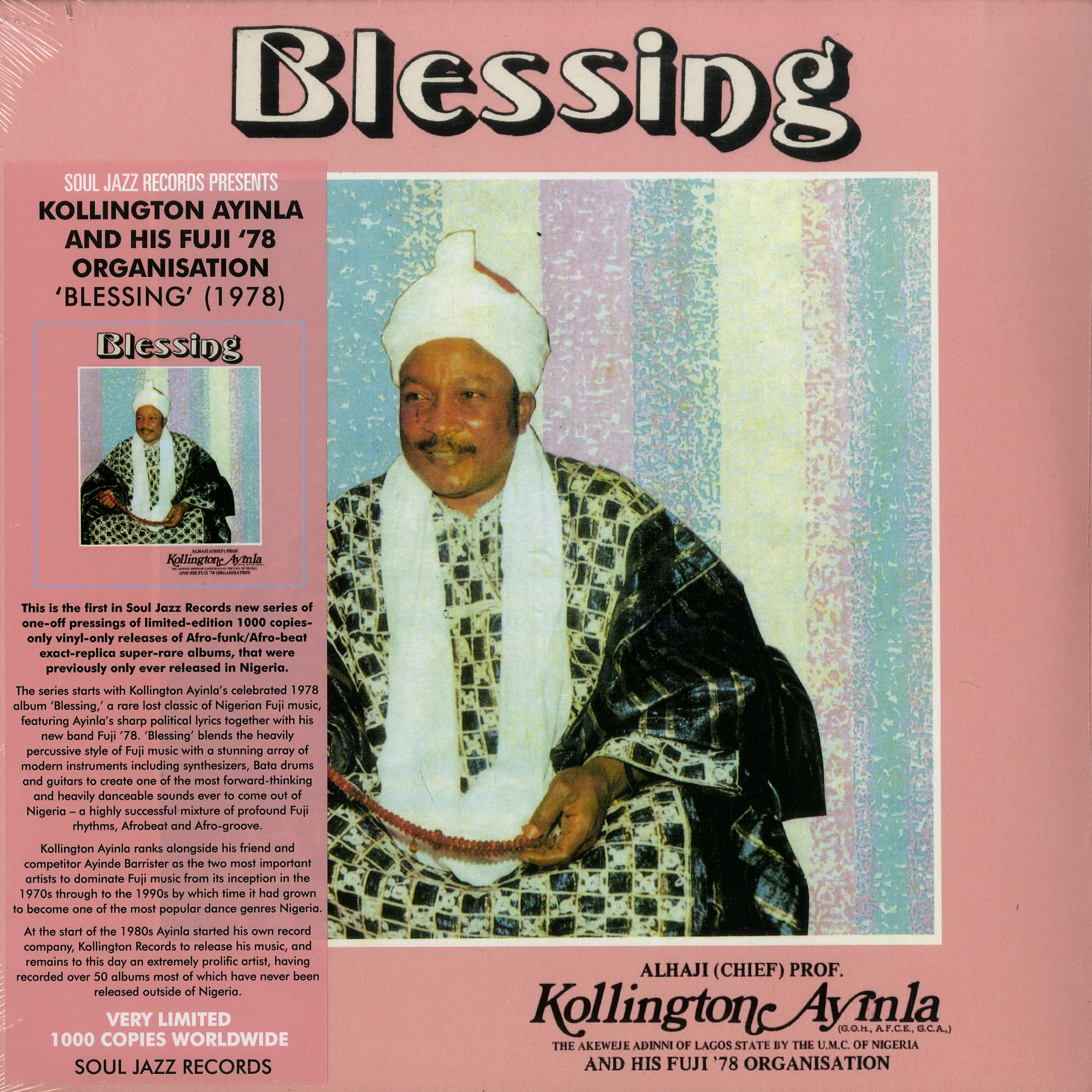Kollington Ayinla And His Fuji 78 Organisation - BLESSING