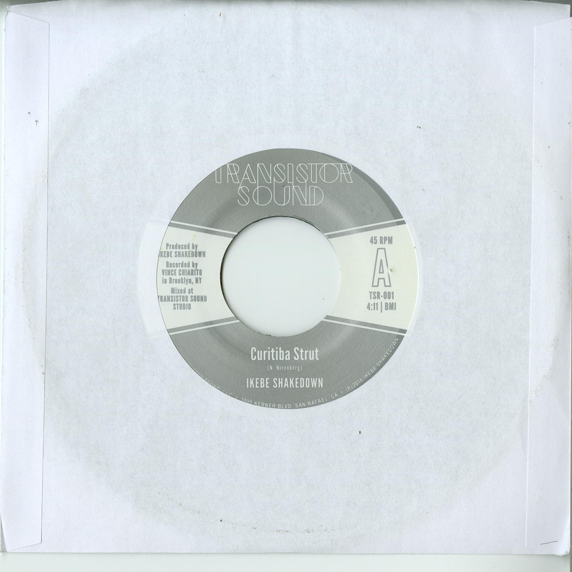 Ikebe Shakedown / Monophonics - CURITIBA STRUT / HANGING ON