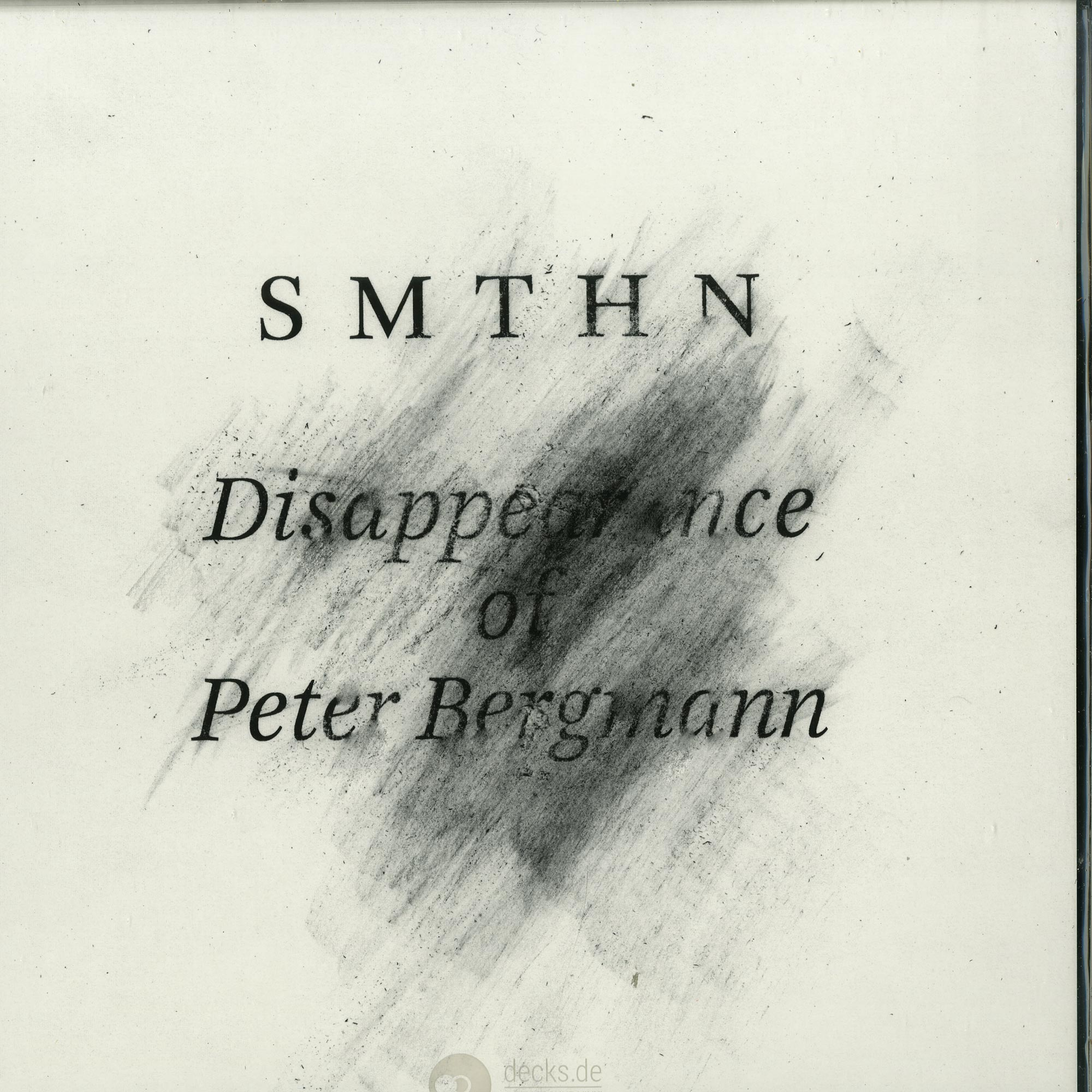SMTHN - THE DISAPPEARANCE OF PETER BERGMANN
