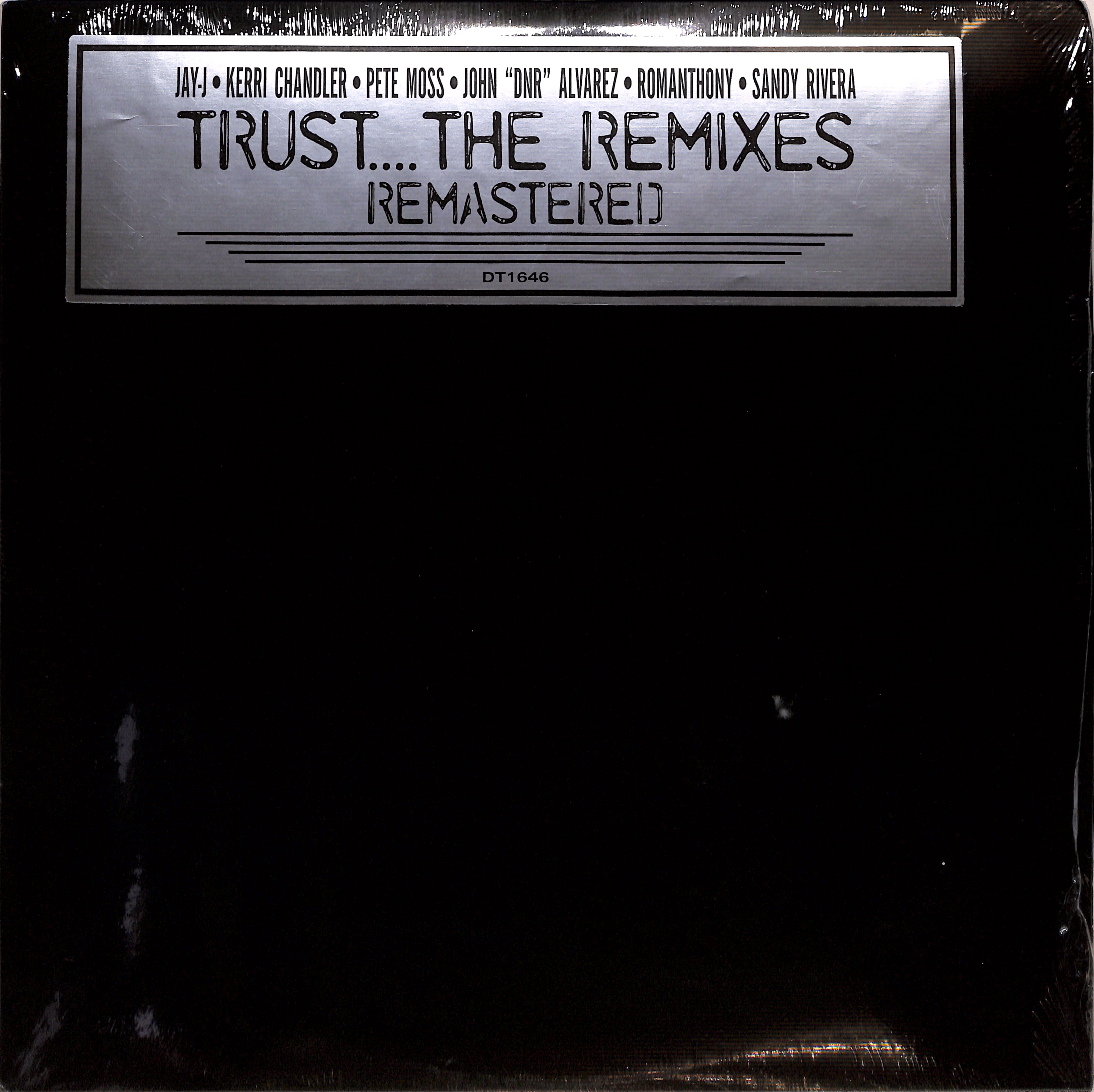 Romanthony - TRUST - THE REMIXES