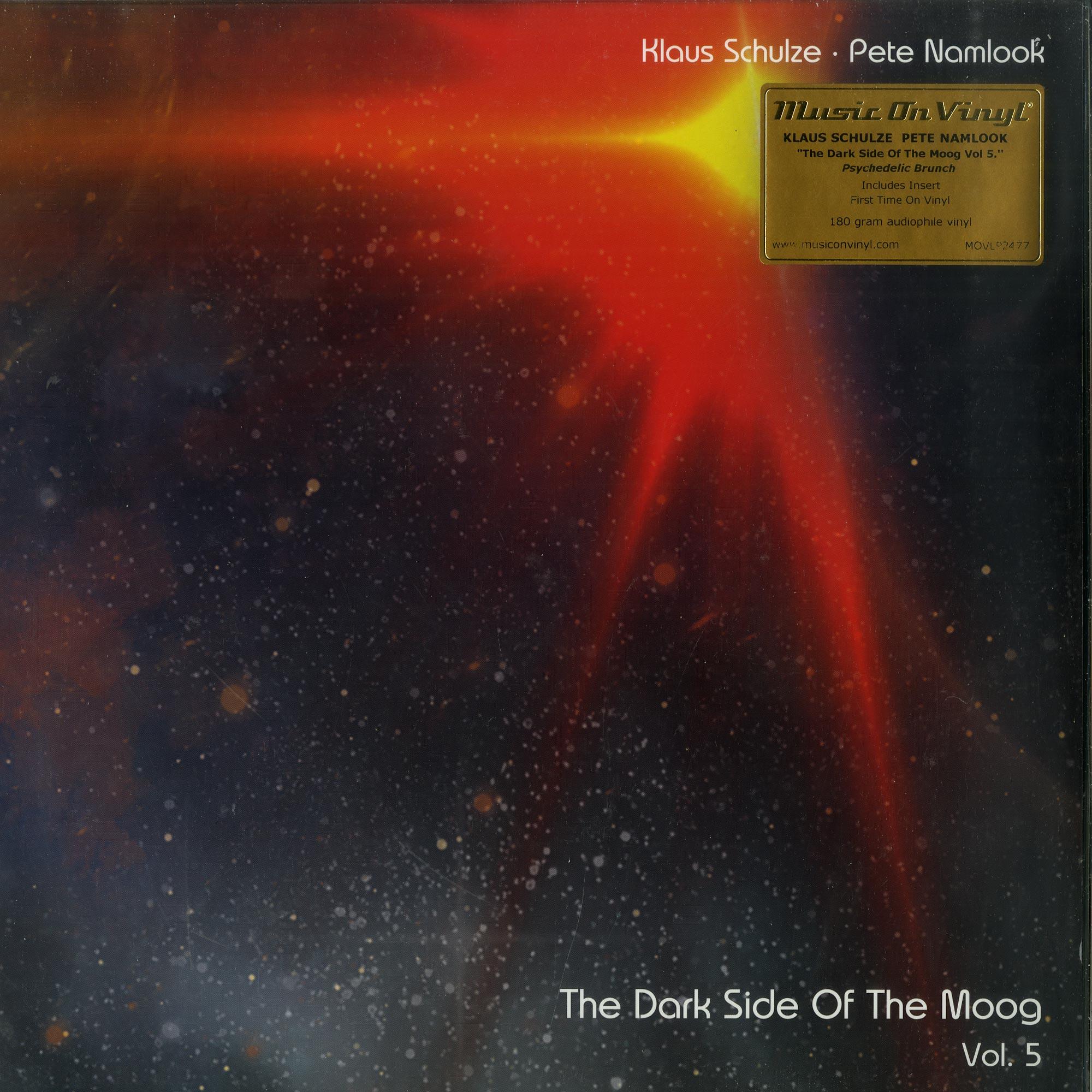 Klaus Schulze & Pete Namlook - DARK SIDE OF THE MOOG VOL. 5 - PSYCHEDELIC BRUNCH