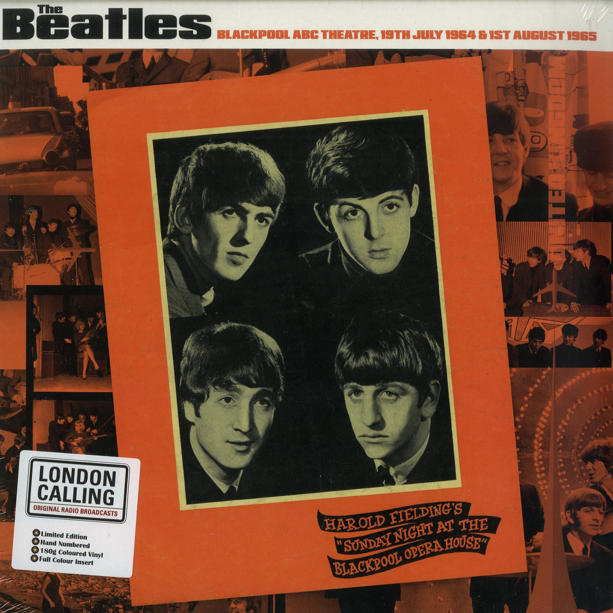 The Beatles - BLACKPOOL ABC THEATRE 1964/65