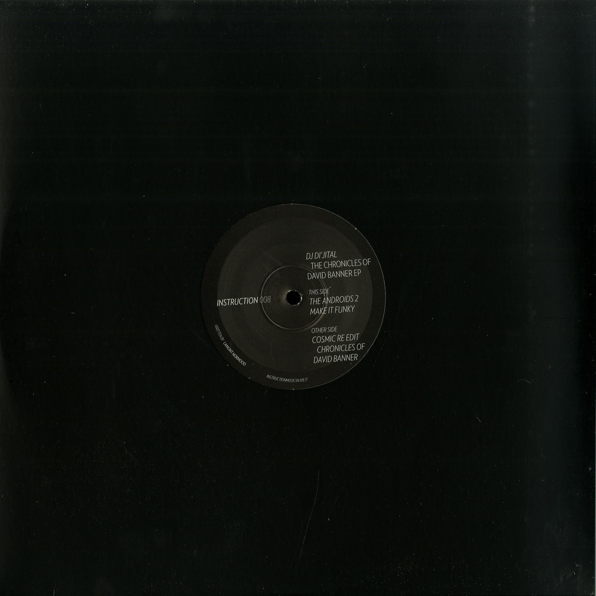 DJ Dijital - THE CHRONICLES OF DAVID BANNER EP