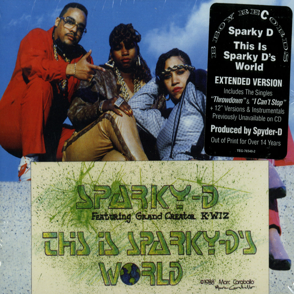 Sparky D - THIS IS SPARKY DS WORLD