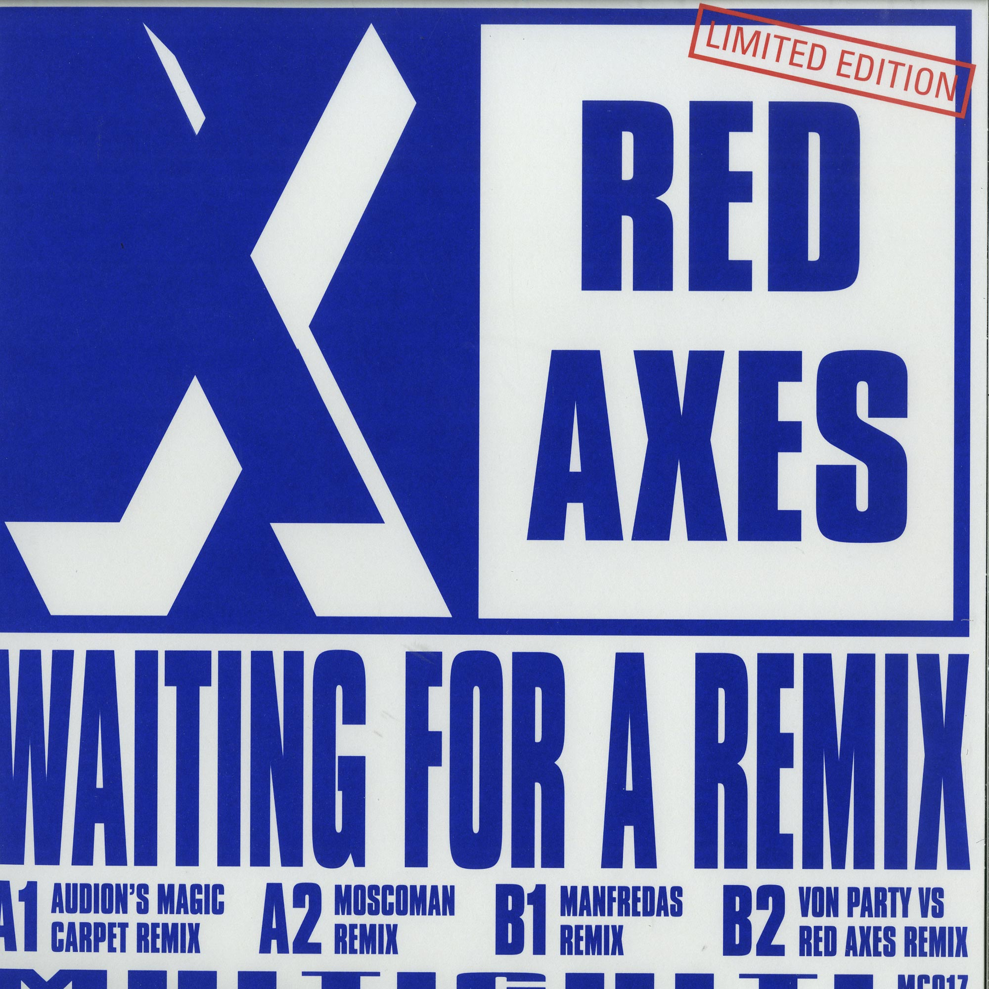 Red Axes - WAITING FOR A REMIX